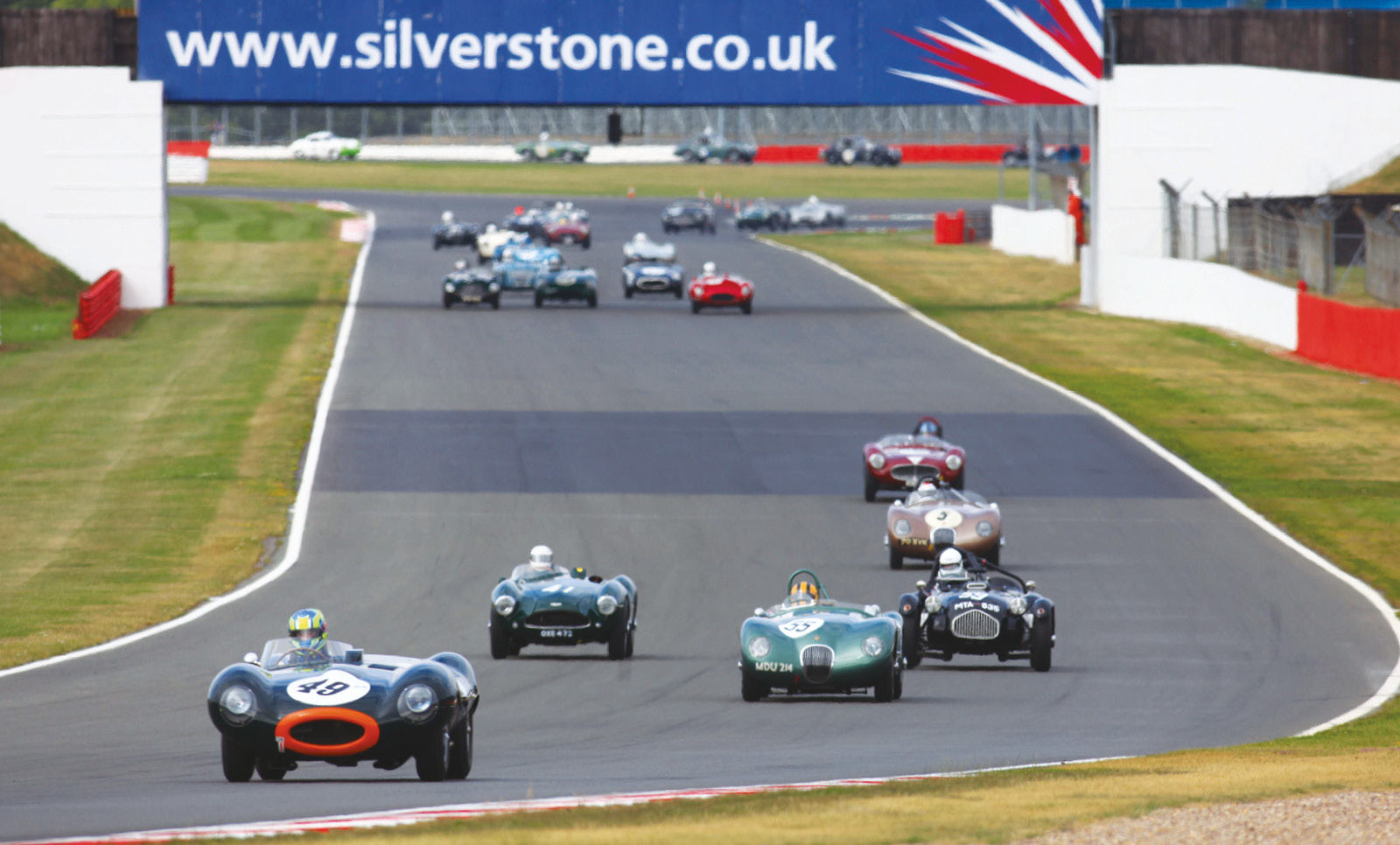 A Thruxton rarity, 1950s sports cars will race at 50th anniversary event