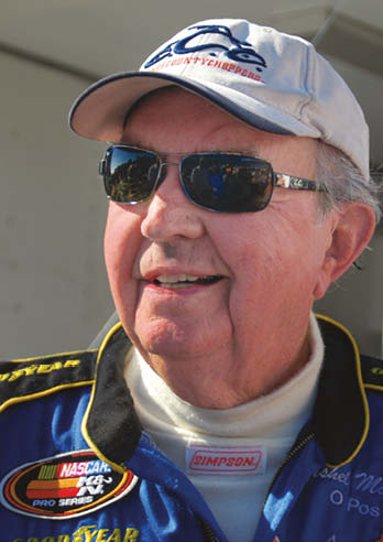 McGriff made history last year, starting a NASCAR race at the age of 90