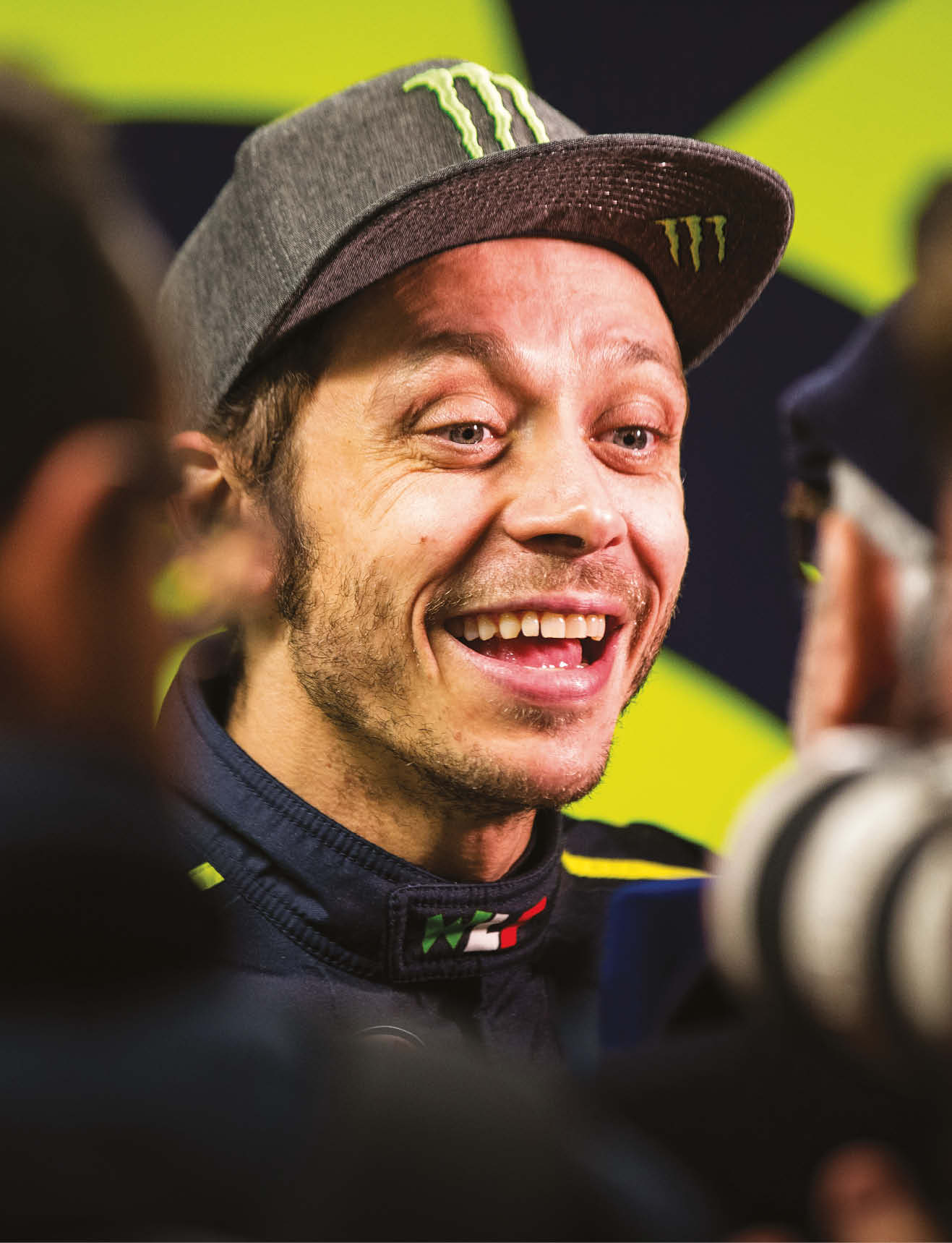 Rossi, who turns 40 this month, has claimed a staggering nine world titles in three different classes