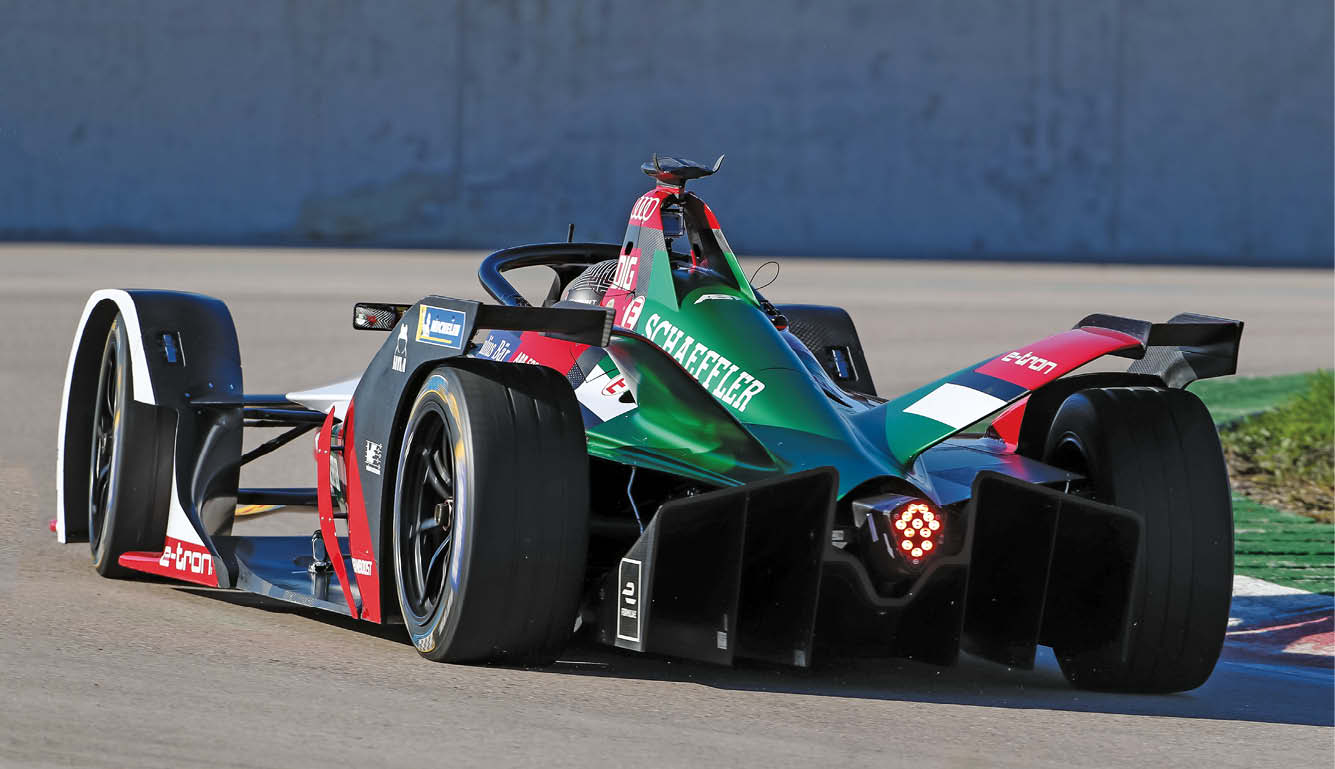 Meaden took a more cautious approach with the new car – but very quickly found four tenths