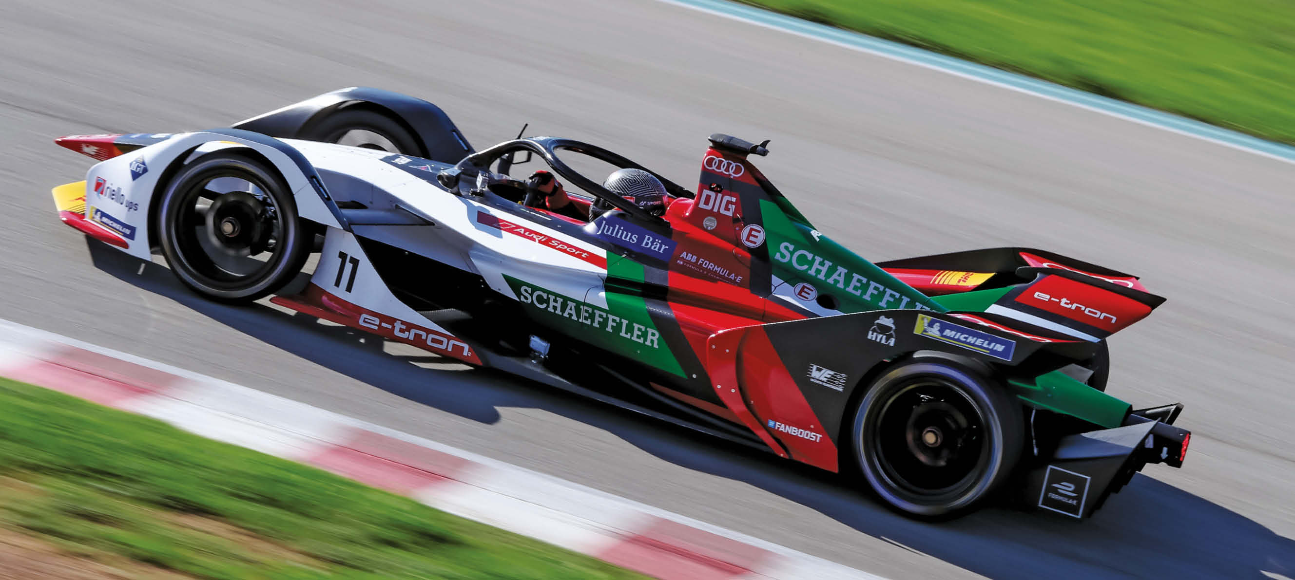 The Gen-2 Formula E racer is styled much more adventurously than the car it supersedes