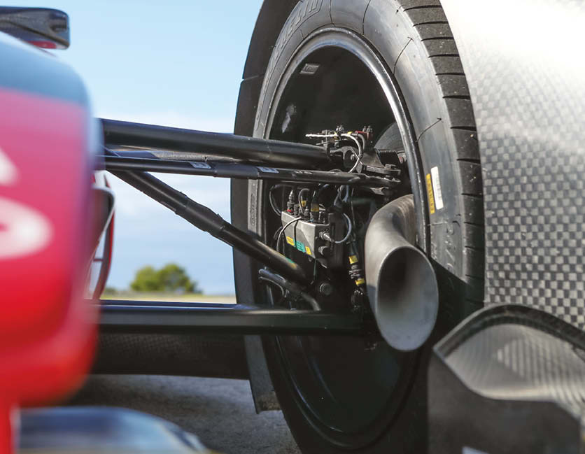 Brake-by-wire systems are now allowed in Formula E, but only on the front axle