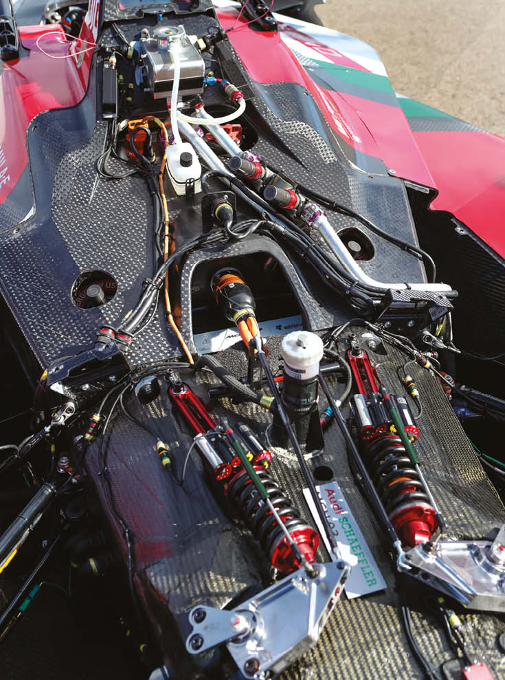 Powertrain capable of lasting full race without car swap is biggest change beneath the skin
