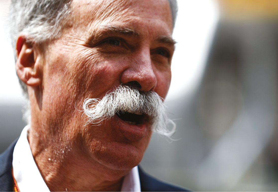 Liberty Media, headed up by Chase Carey, wants a mixture of free and pay-for coverage