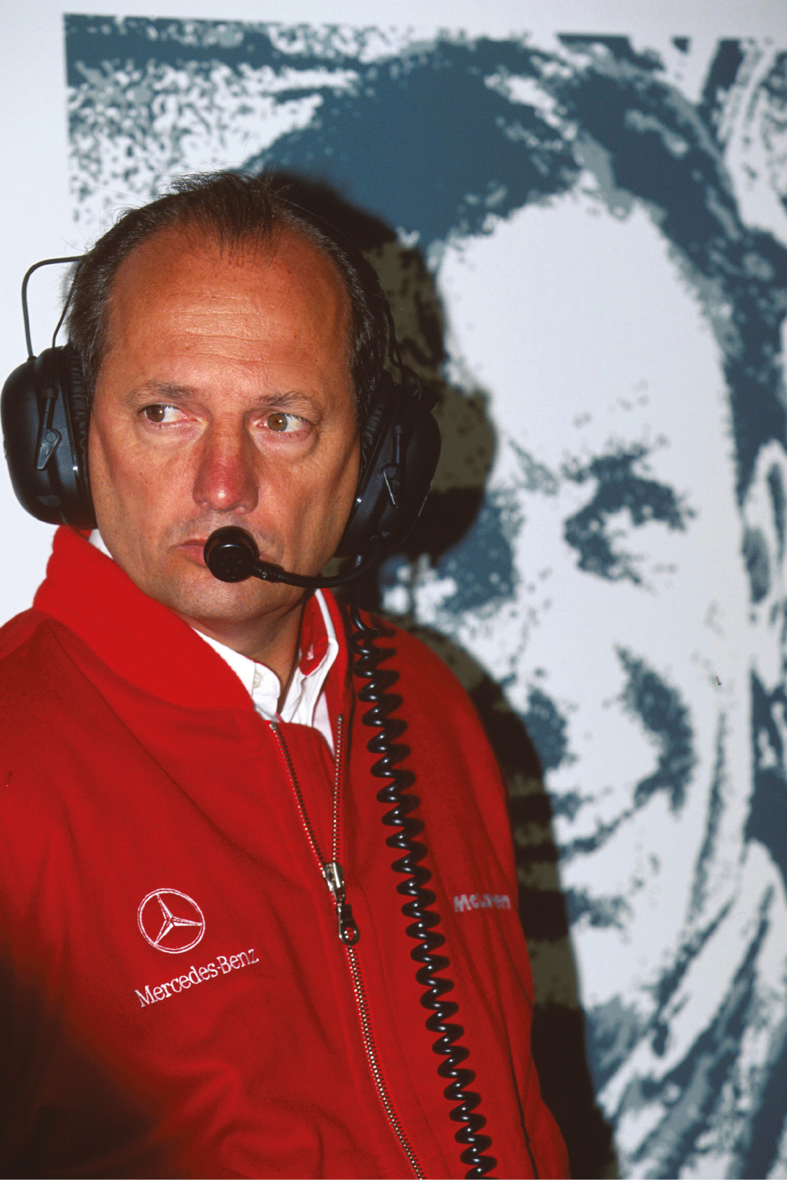 In the shadow of Bruce: Ron Dennis was a man under pressure during the 1995 season, as the team slumped down the pecking order.