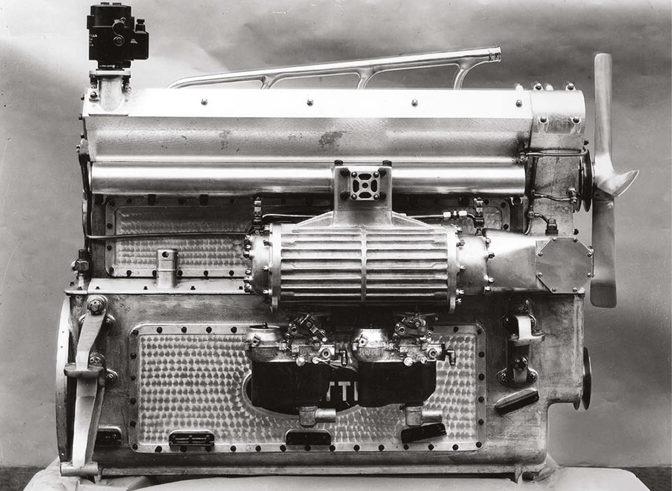 Type 50, chassis 50177, raced at Le Mans three times with giant twin-cam in-line eight
