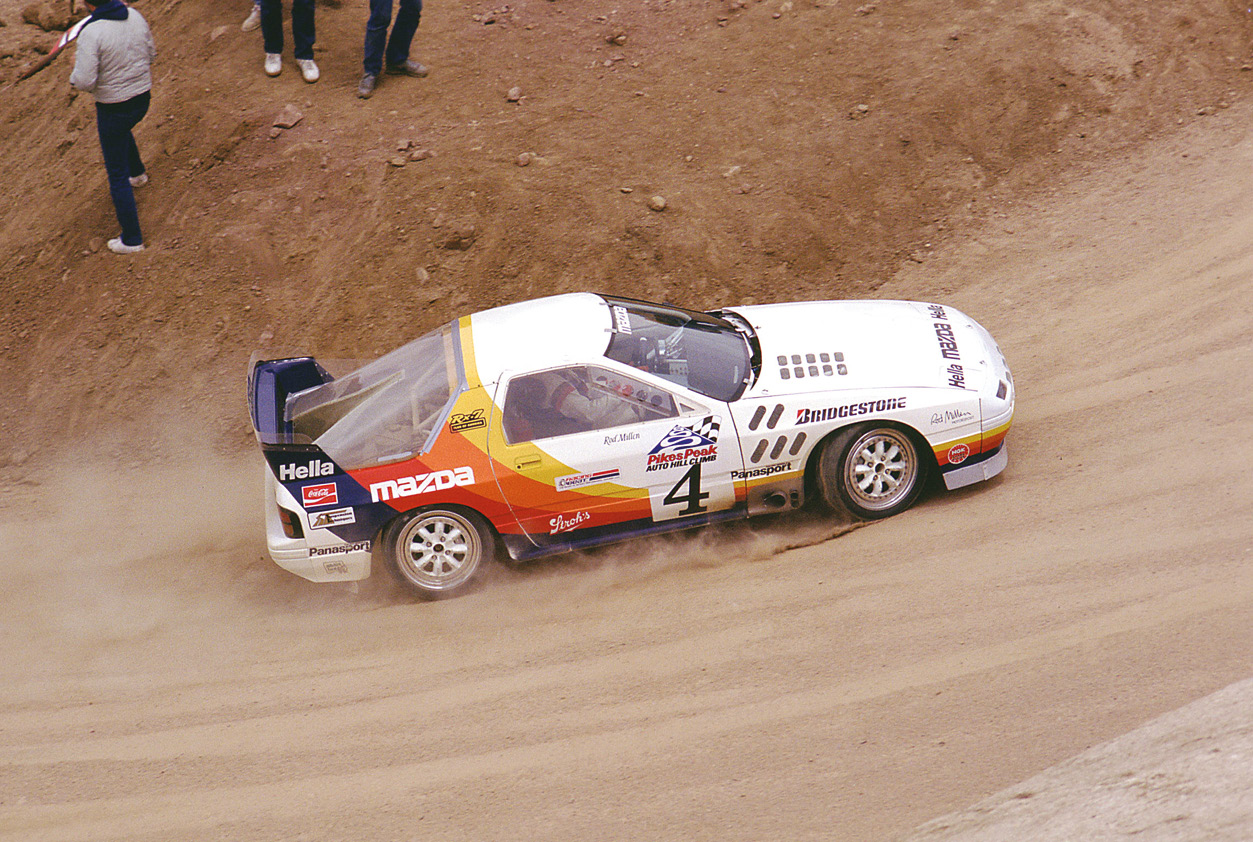 Rod Millen's twin-turbo Mazda RX7.