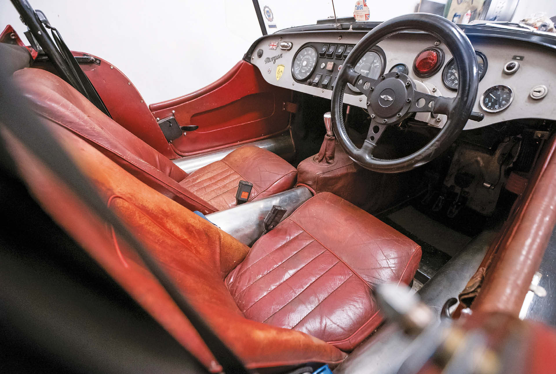 """The interior is best described as """"exquisitely vintage"""". But is prime for restoration"""