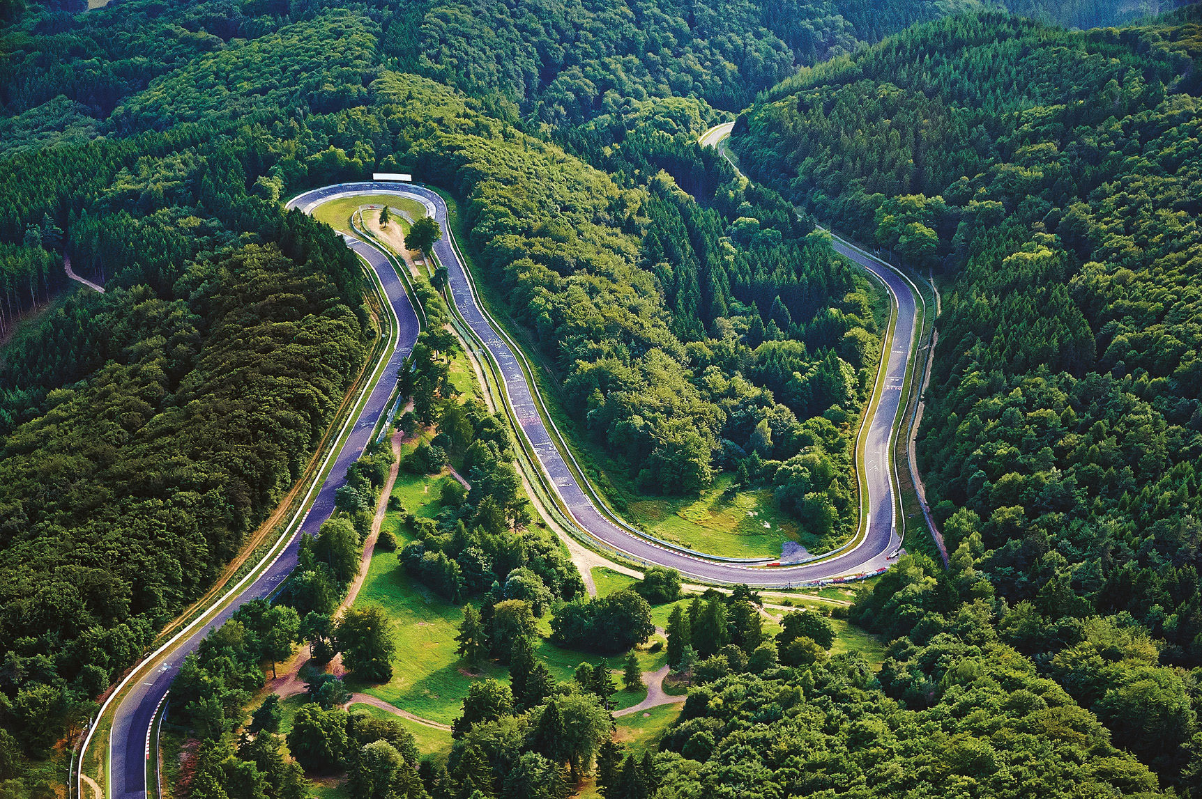 The public can book single laps of the Nordschleife for as little as €25 each. Just don't crash, as there's a €600 recovery charge!