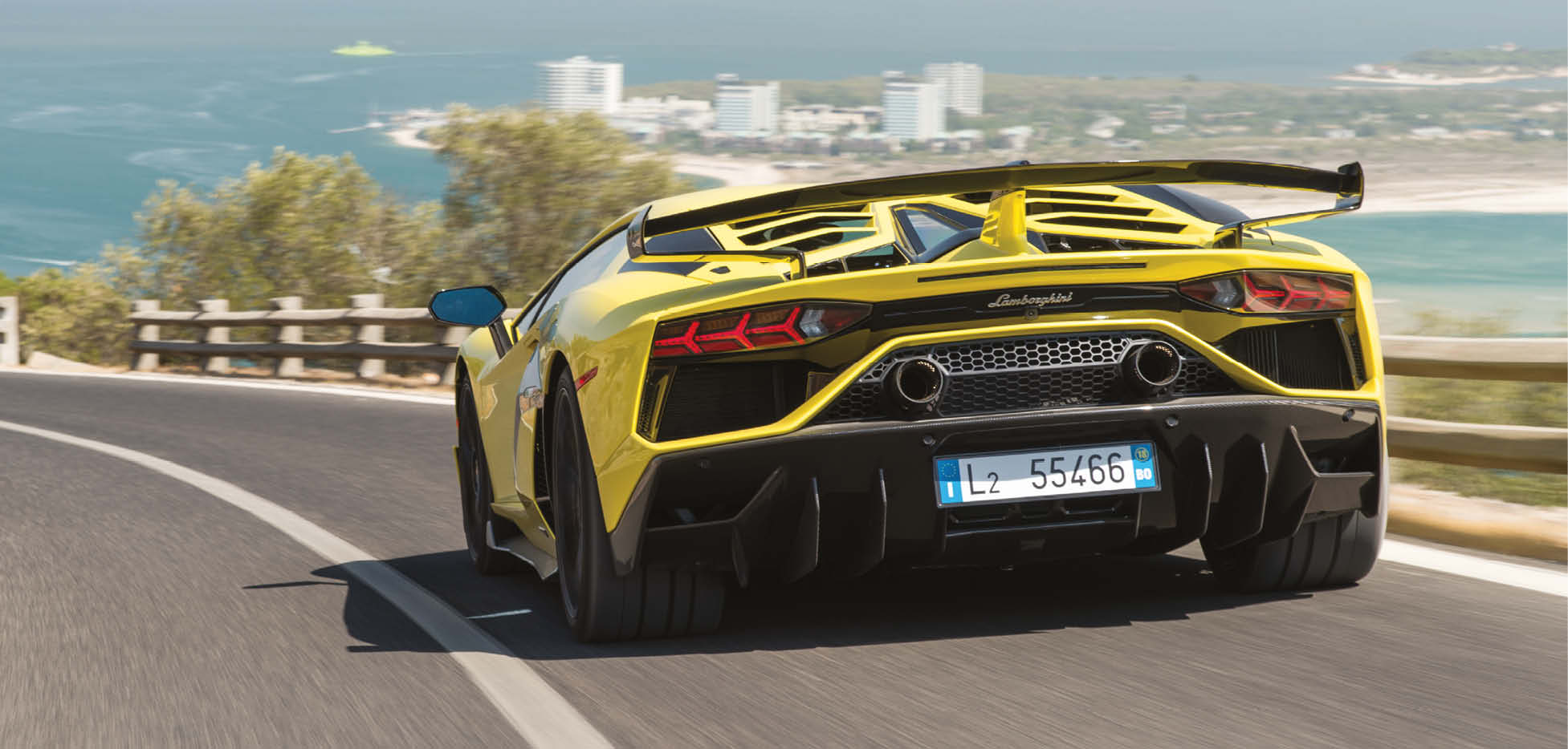 With 759bhp and hardly any peripheral vision, the Aventador is a challenge