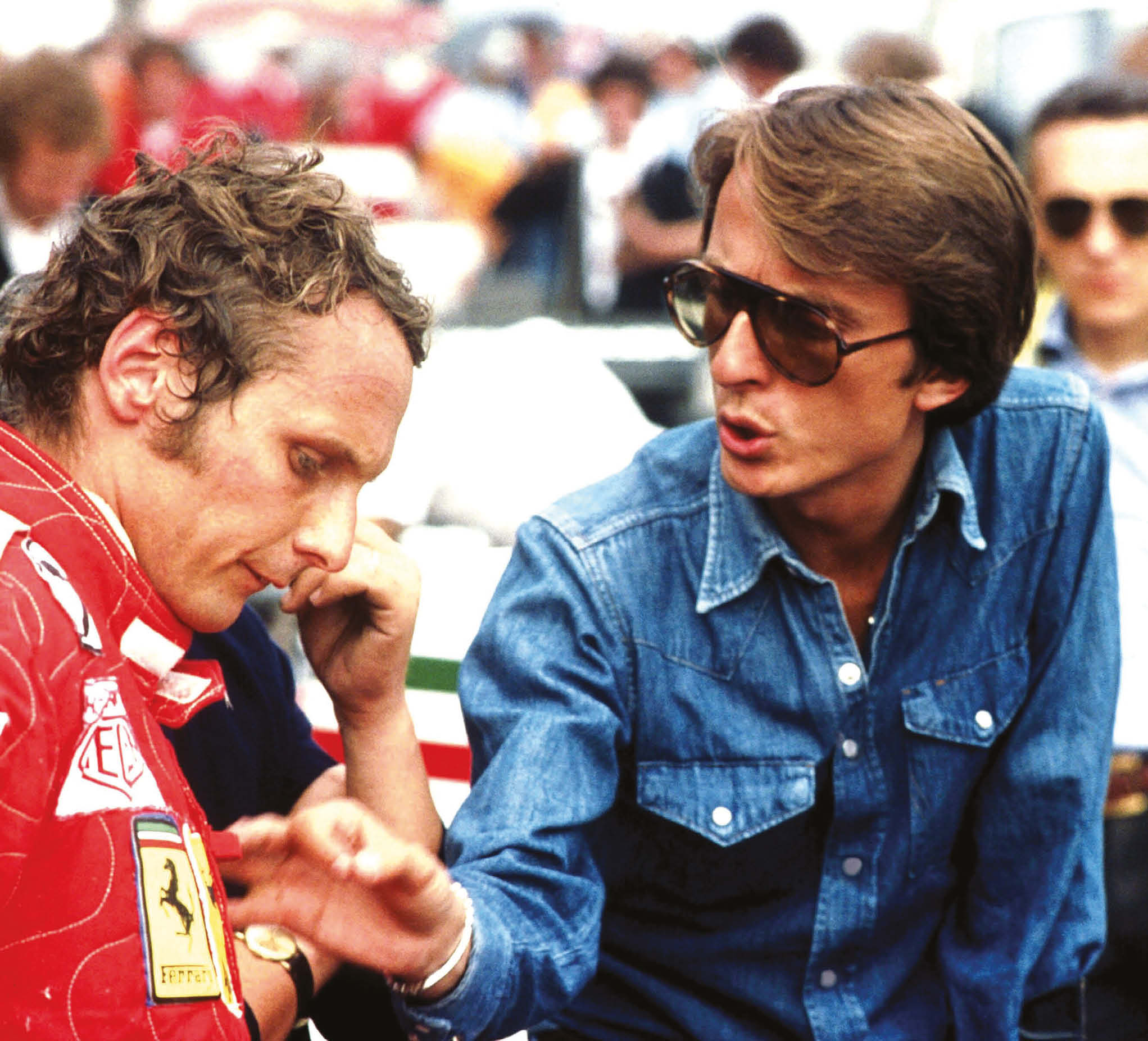 Luca di Montezemolo's first success was as team manager with Niki Lauda back in 1975
