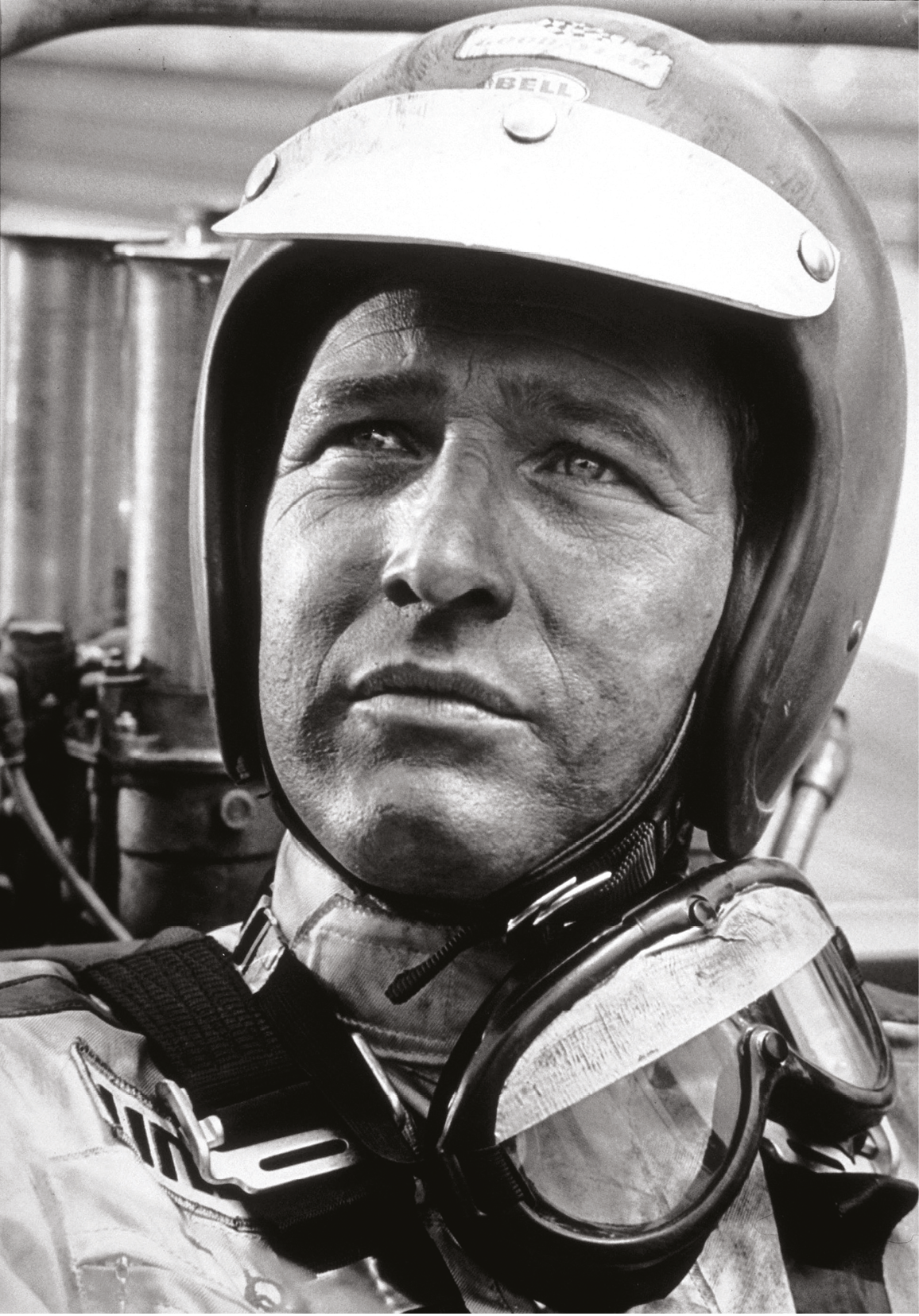 """The look of eagles in his eyes"" – Newman at the wheel, as described by co-star Wagner"