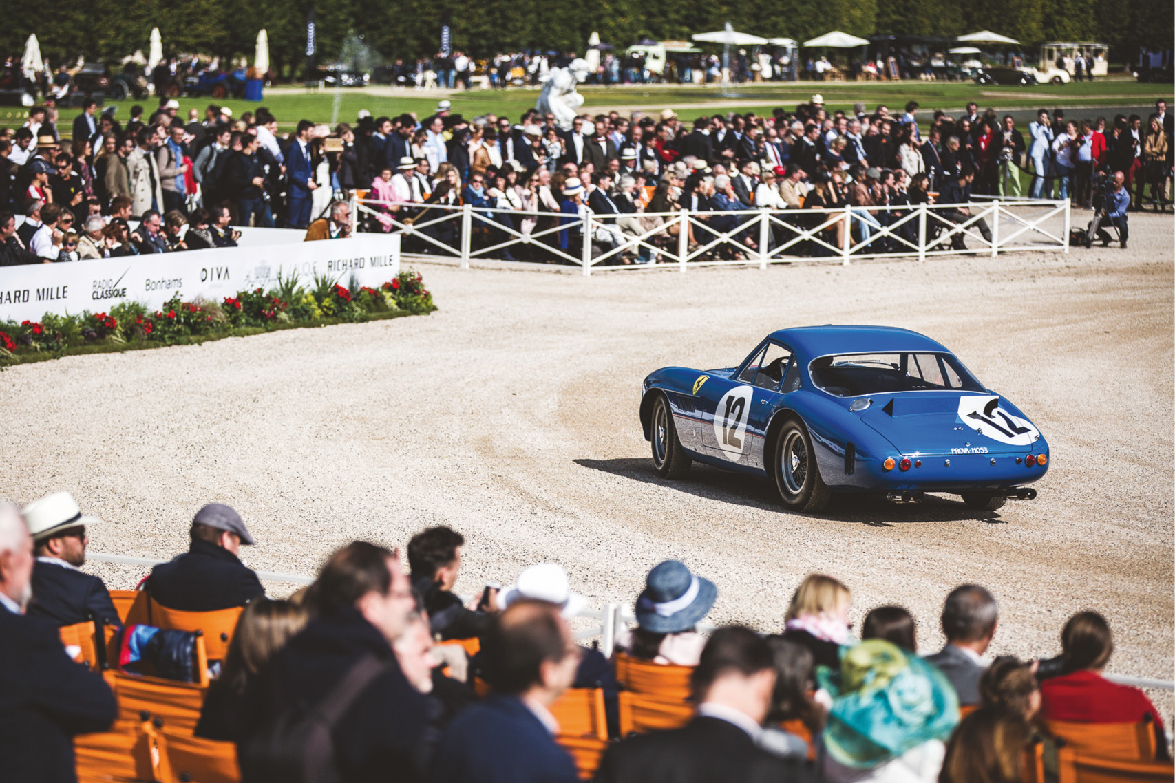 Chantilly is one of the most glamorous events on the concours circuit