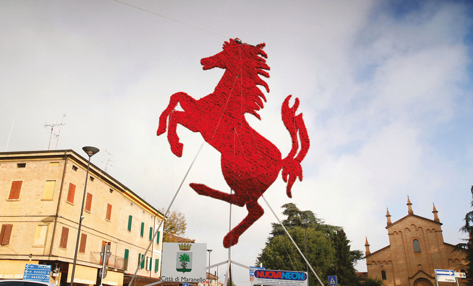 Maranello is a must-visit place for the Ferrari fan, with its test track and museum