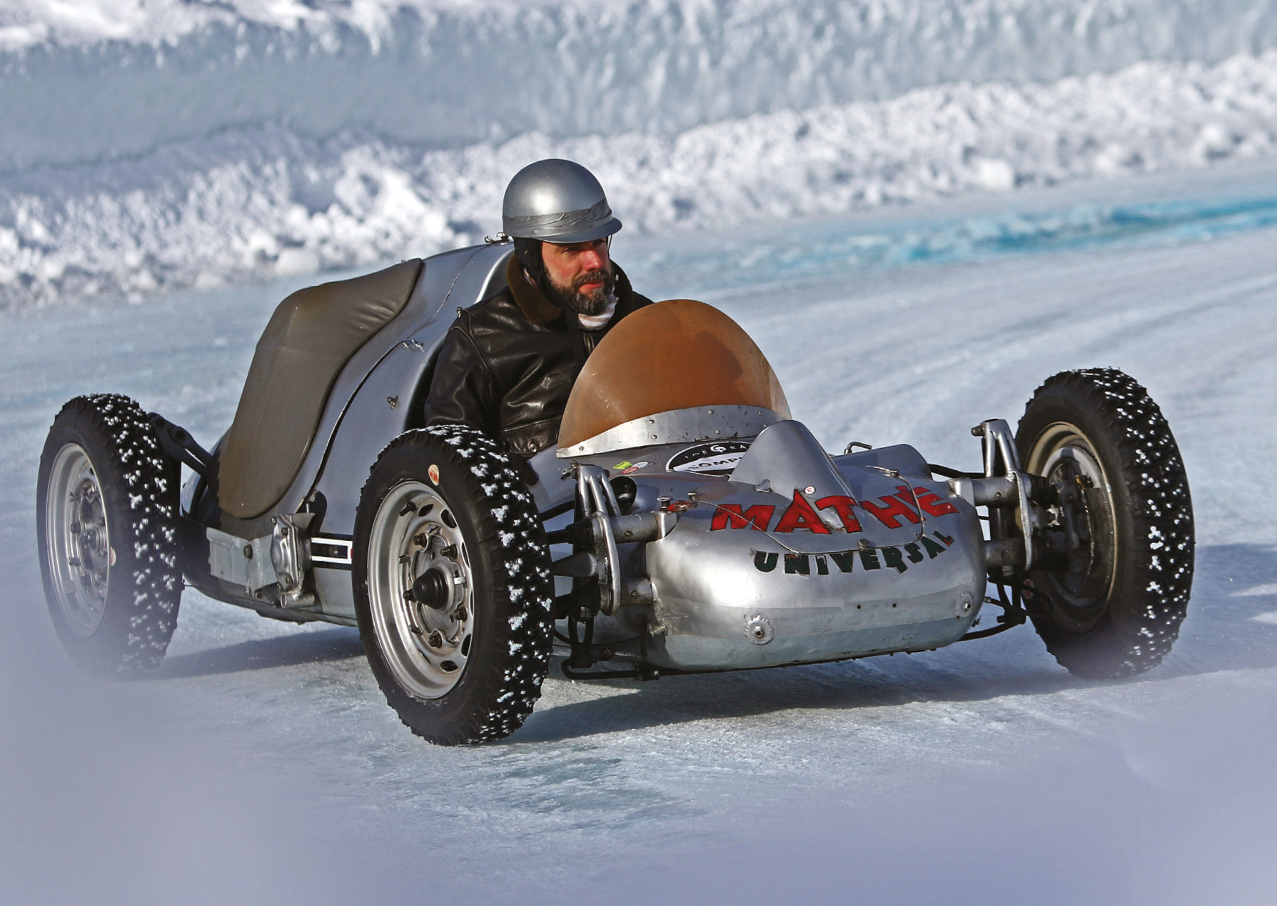 An ice-racing legend in Zell, the Fetzenflieger is a fusion of VW parts with a Porsche engine
