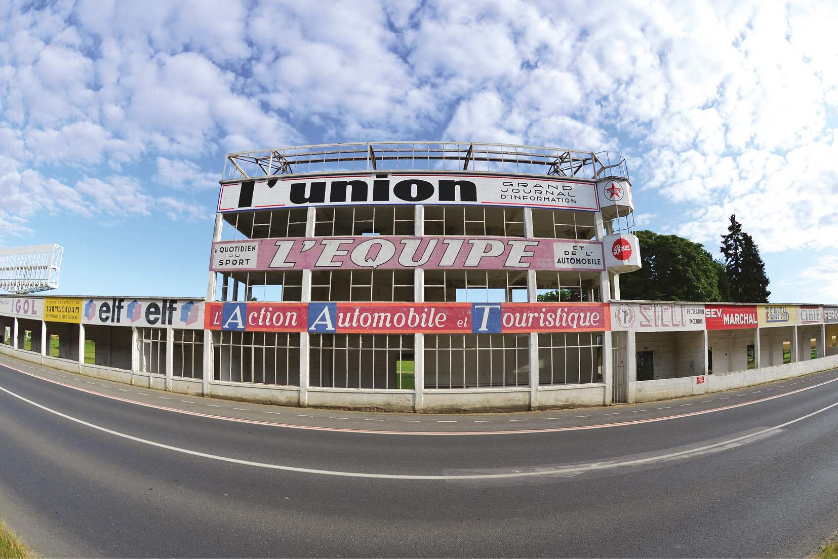 Established in 1926 and last hosted a grand prix in 1966; racing ceased entirely at Reims in 1972