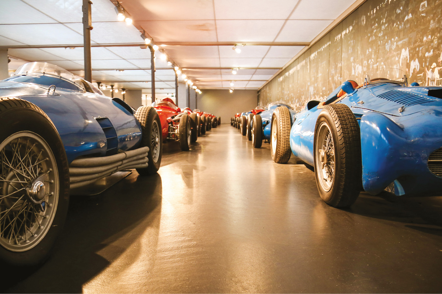 The Schlumpf brothers were textile magnates before starting their private classic car collection