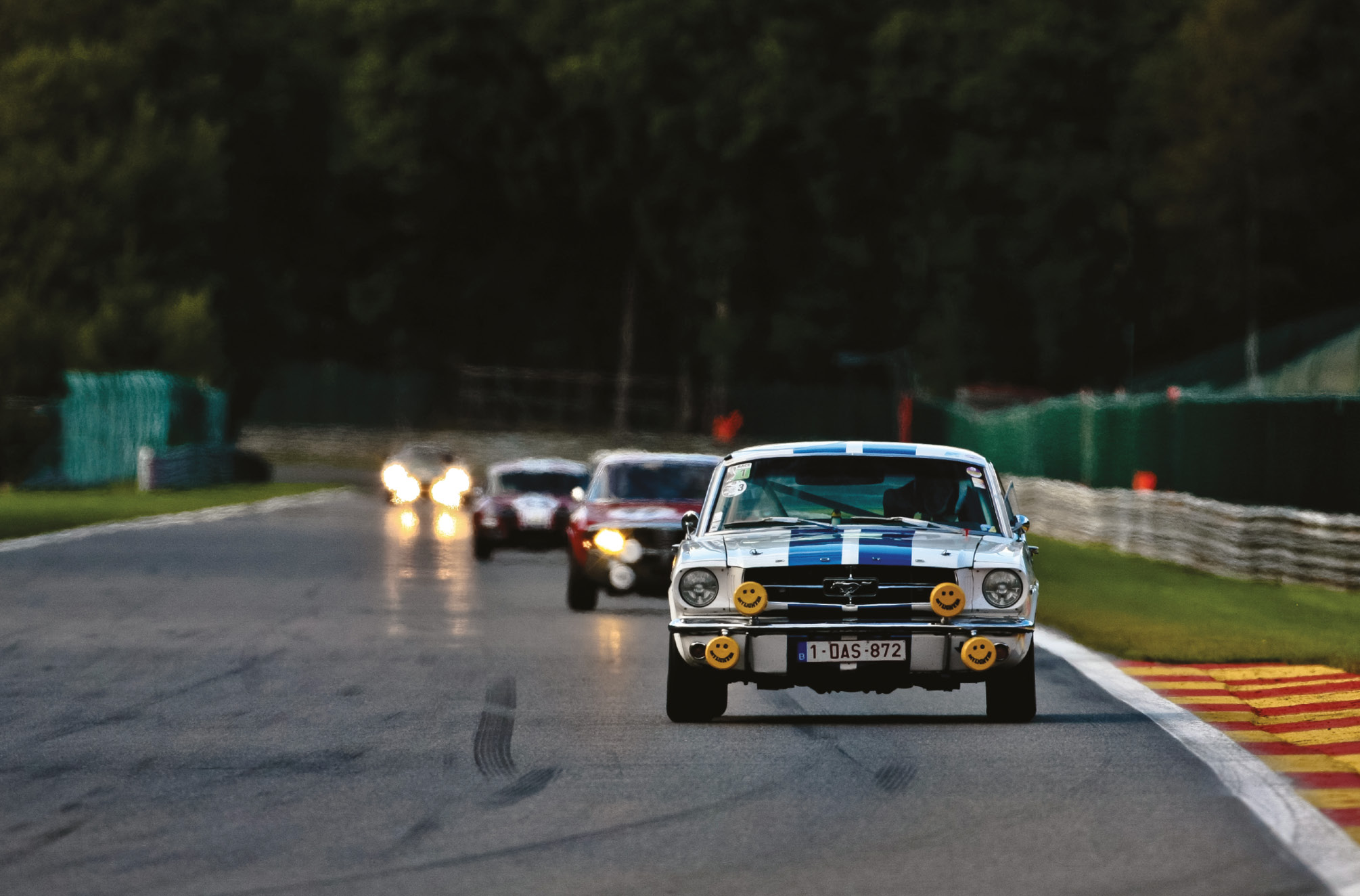 The annual Spa Six Hours event features great variety on its grid and is supported by some British clubs, like the HSCC and Masters