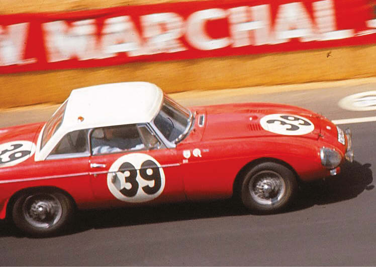 He might best be known for his Mini antics on the Monte, but Paddy Hopkirk shared this MGB with Andrew Hedges. They finished 11th