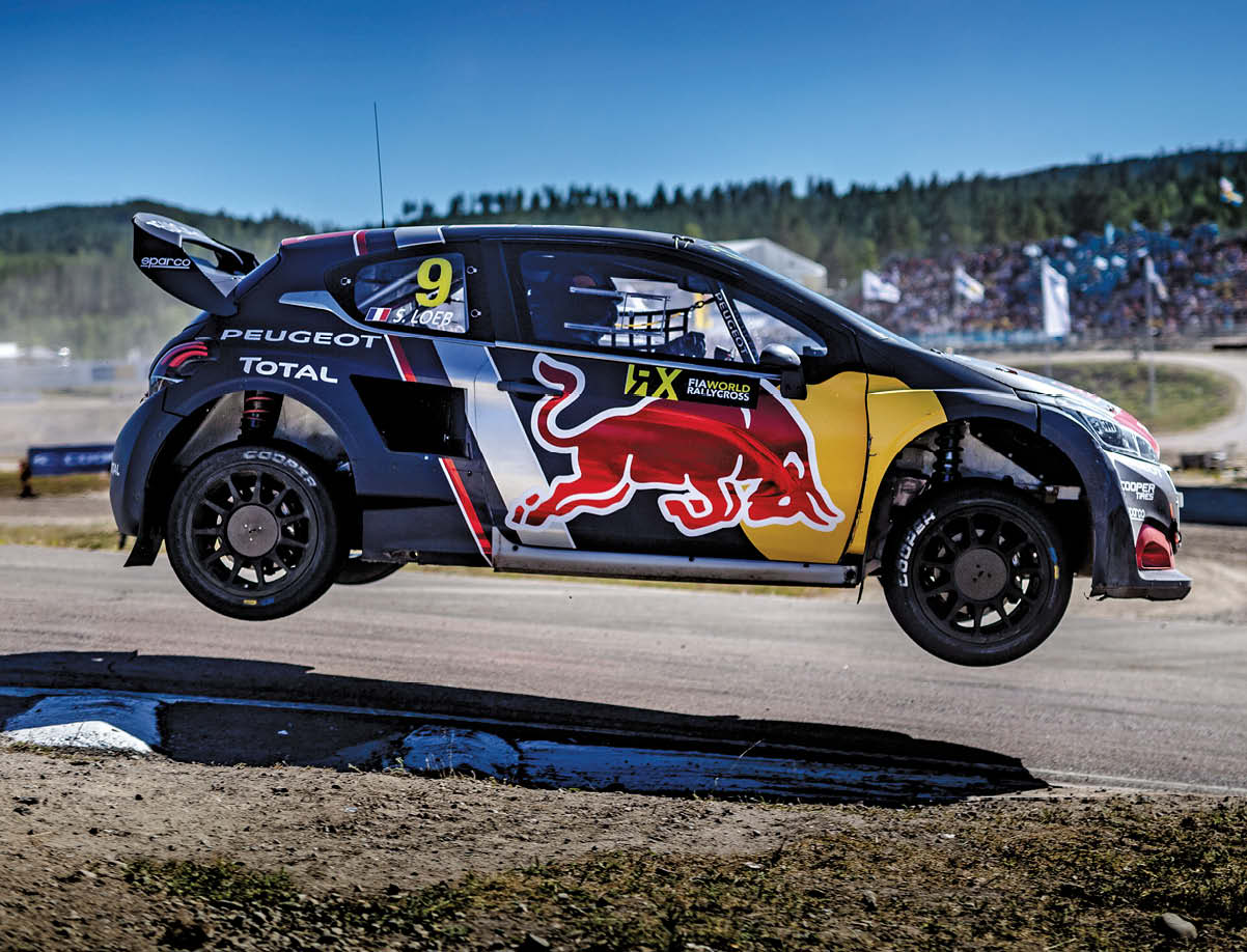 Did Loeb 'dabble' in other forms of motor sport, such as World Rallycross and touring cars?