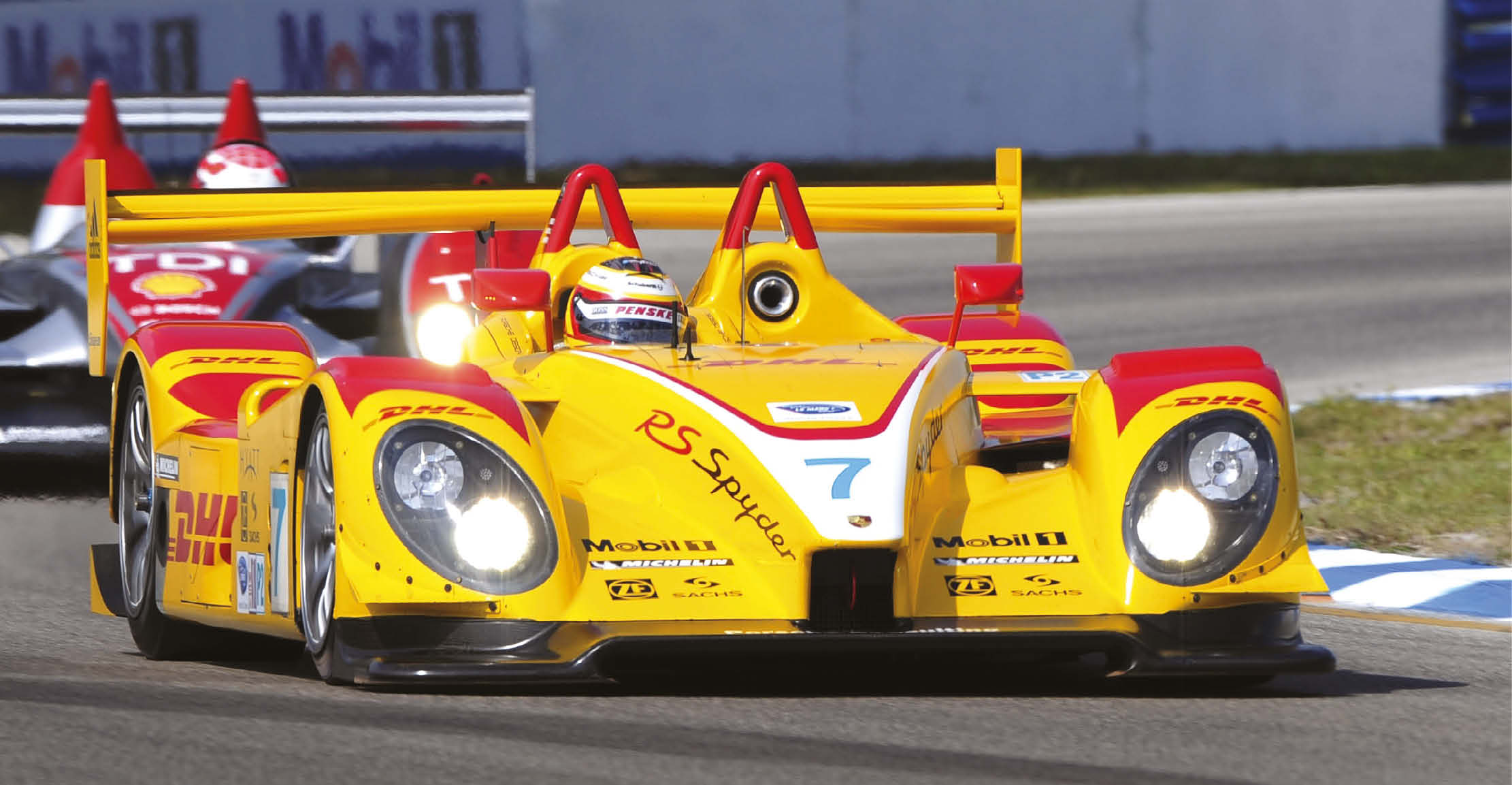 Team Penske operated Porsche's LMP2 programme, and beat the LMP1 Audis at Sebring in 2008