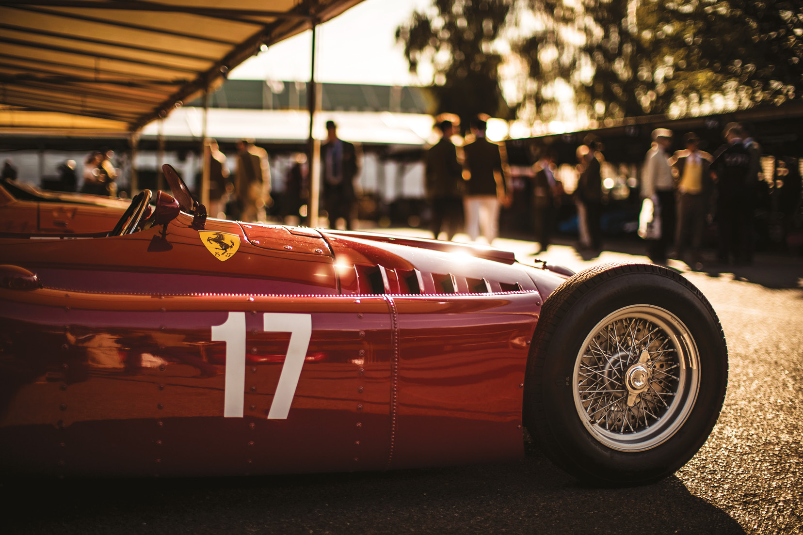 Travel back in time at Goodwood circuit for a unique racing experience