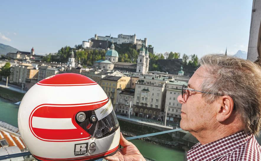 Roland's recovered helmet
