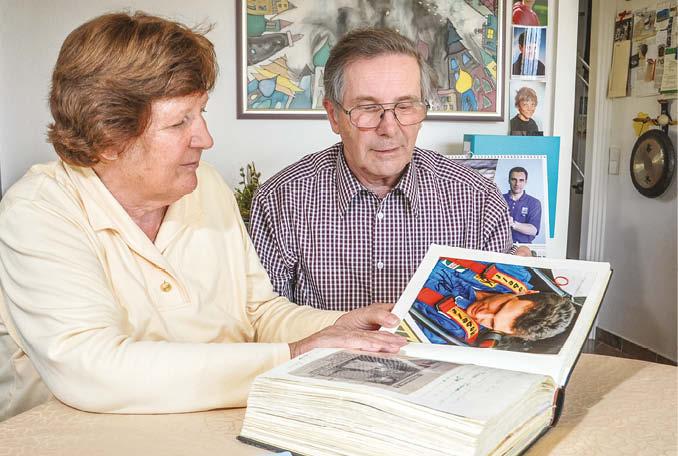 Rudolf and Margit Ratzenberger still live in their son's flat
