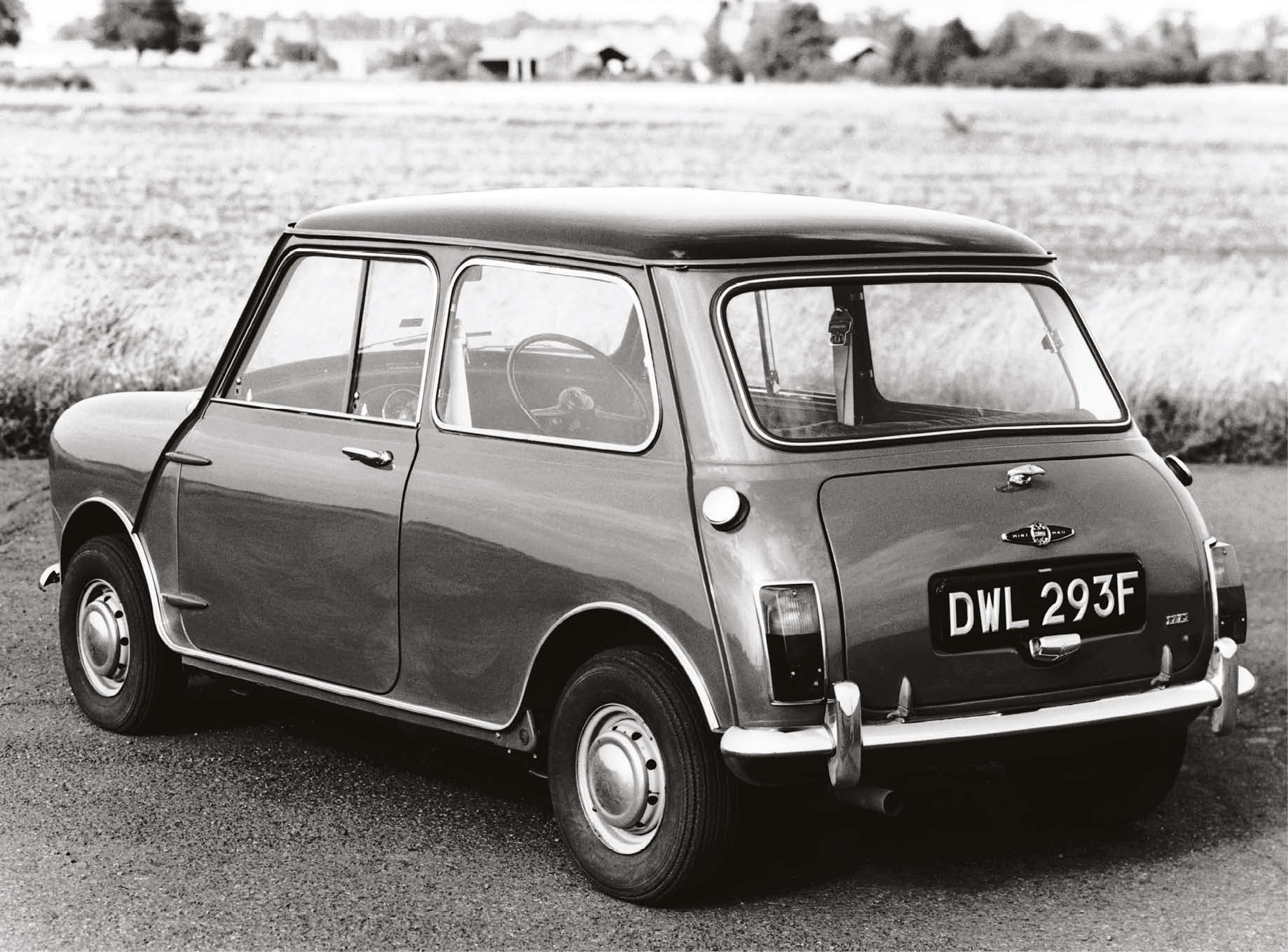The Mini Cooper enjoyed a production run that spanned the 1960s, '70s, '80s and even '90s