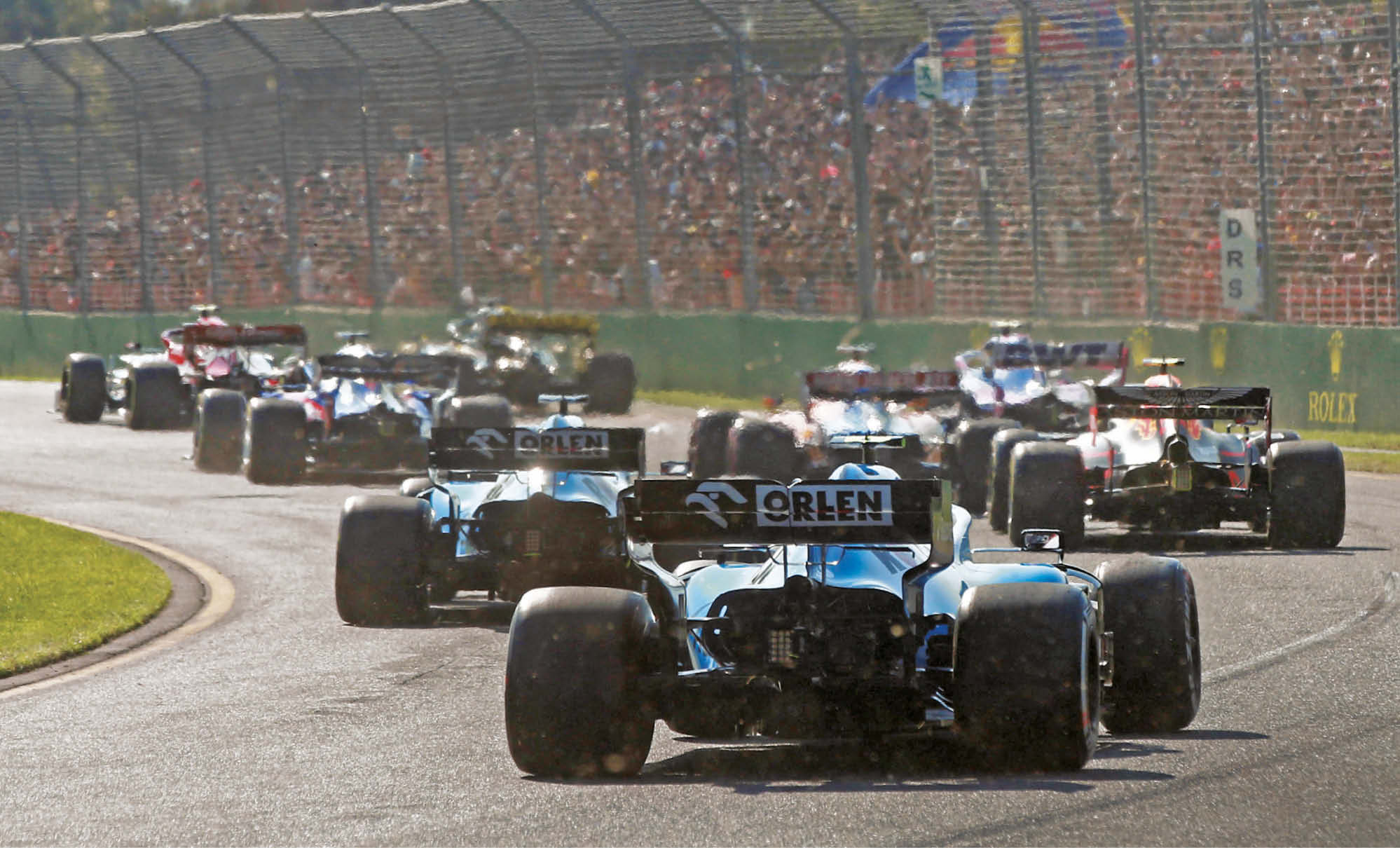 The new Williams FW42 has so far been anchored to the back of the grand prix grid