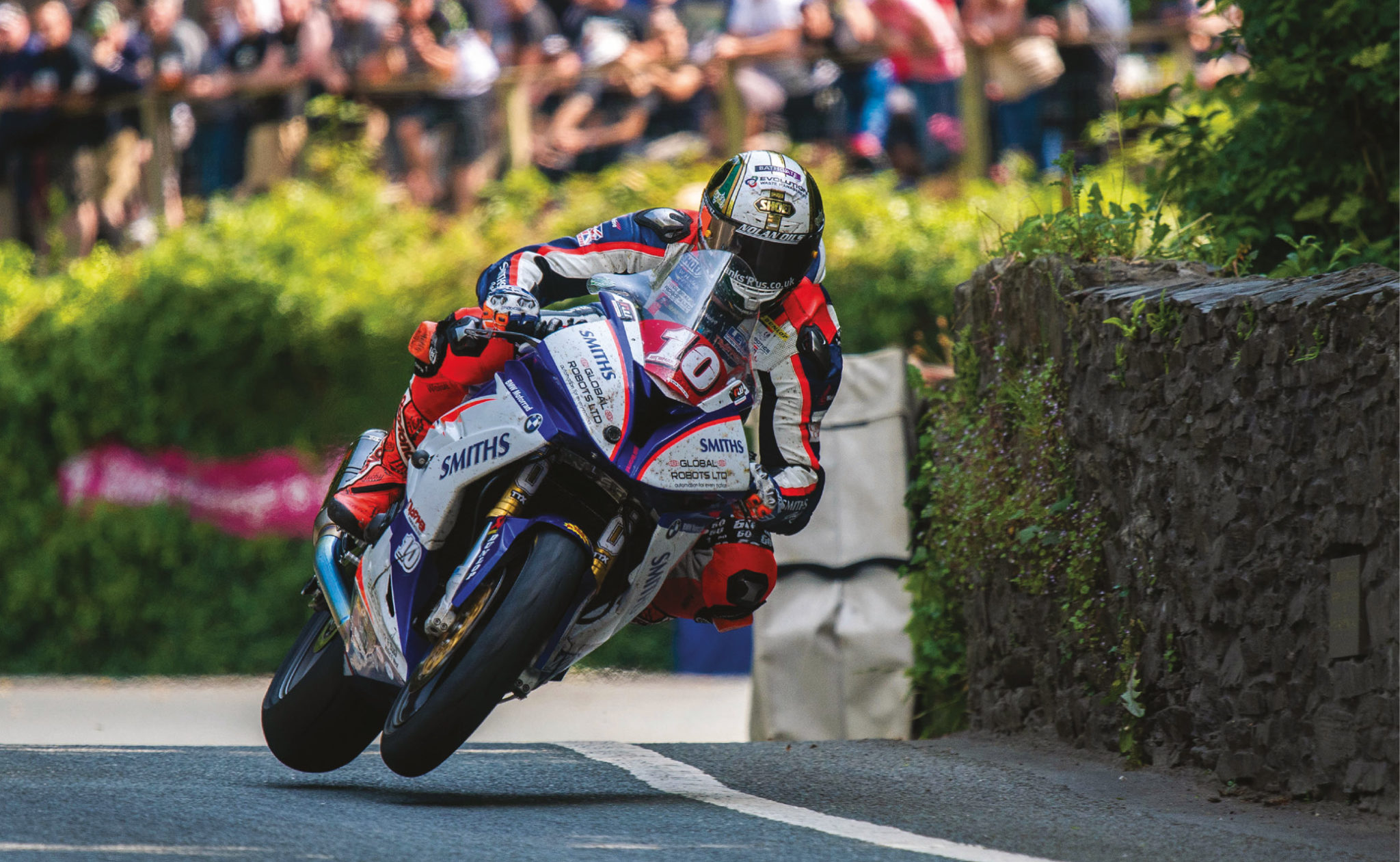 Hickman contested his fifth Isle of Man TT in 2018, and says it takes longer to learn all of the track's secrets