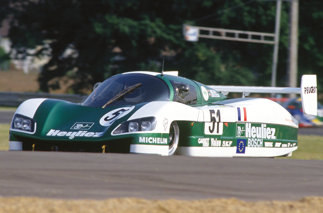 Winning the race didn't really matter to WM, but breaking 250mph did. Dorchy hit 251.7mph in 1988