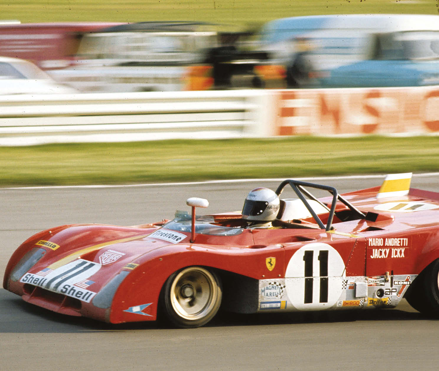 Mario Andretti & Jacky Ickx took their third straight success as Ferrari continued its World Sportscar Championship domination