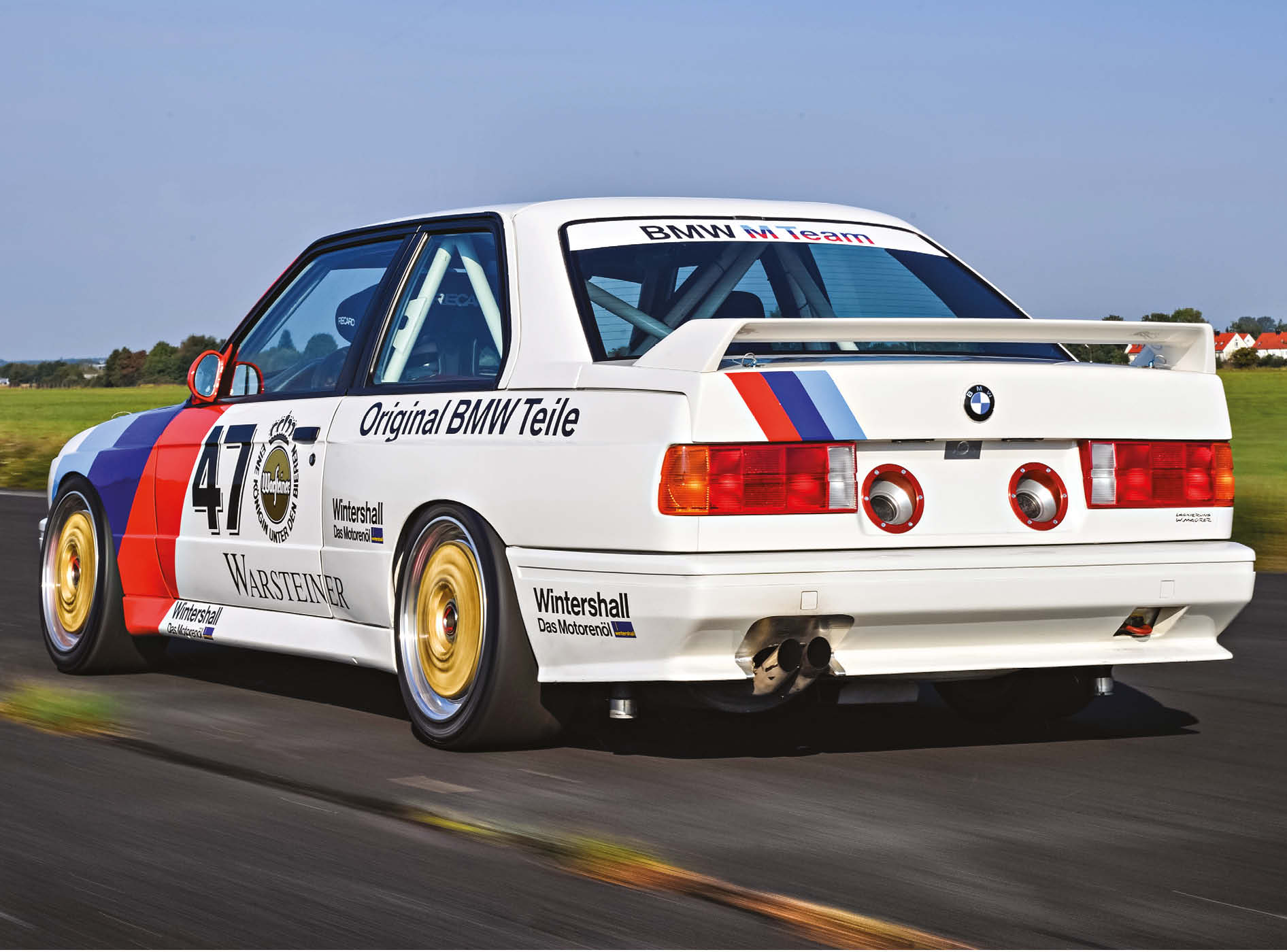First released in the mid-1980s, the E30 M3 went on to win the 1987 World Touring Car crown