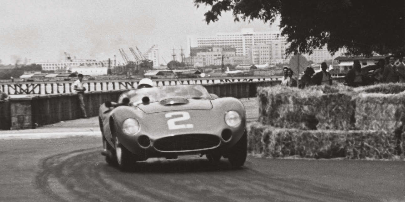 Stirling Moss in a 450S in 1957