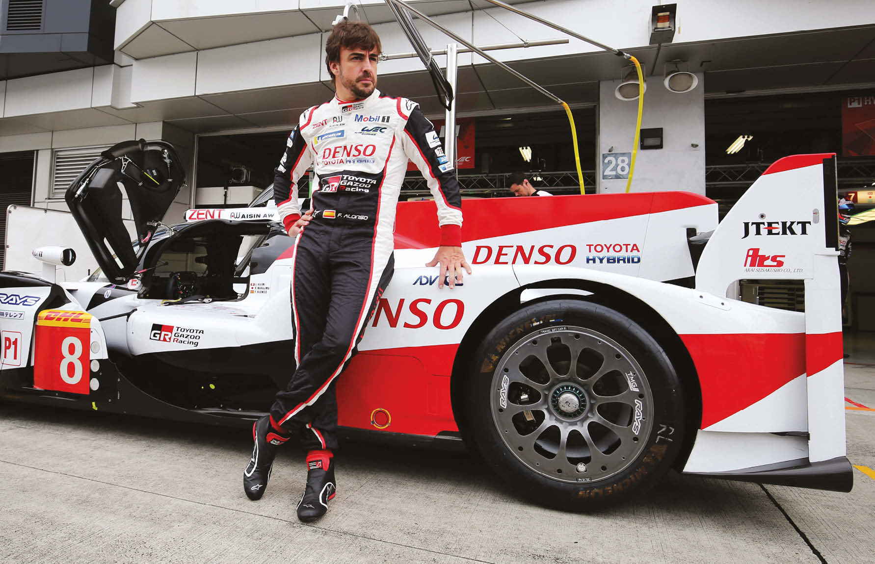 Right now it's Toyota and Le Mans. But could it soon be Toyota and Dakar for Alonso?