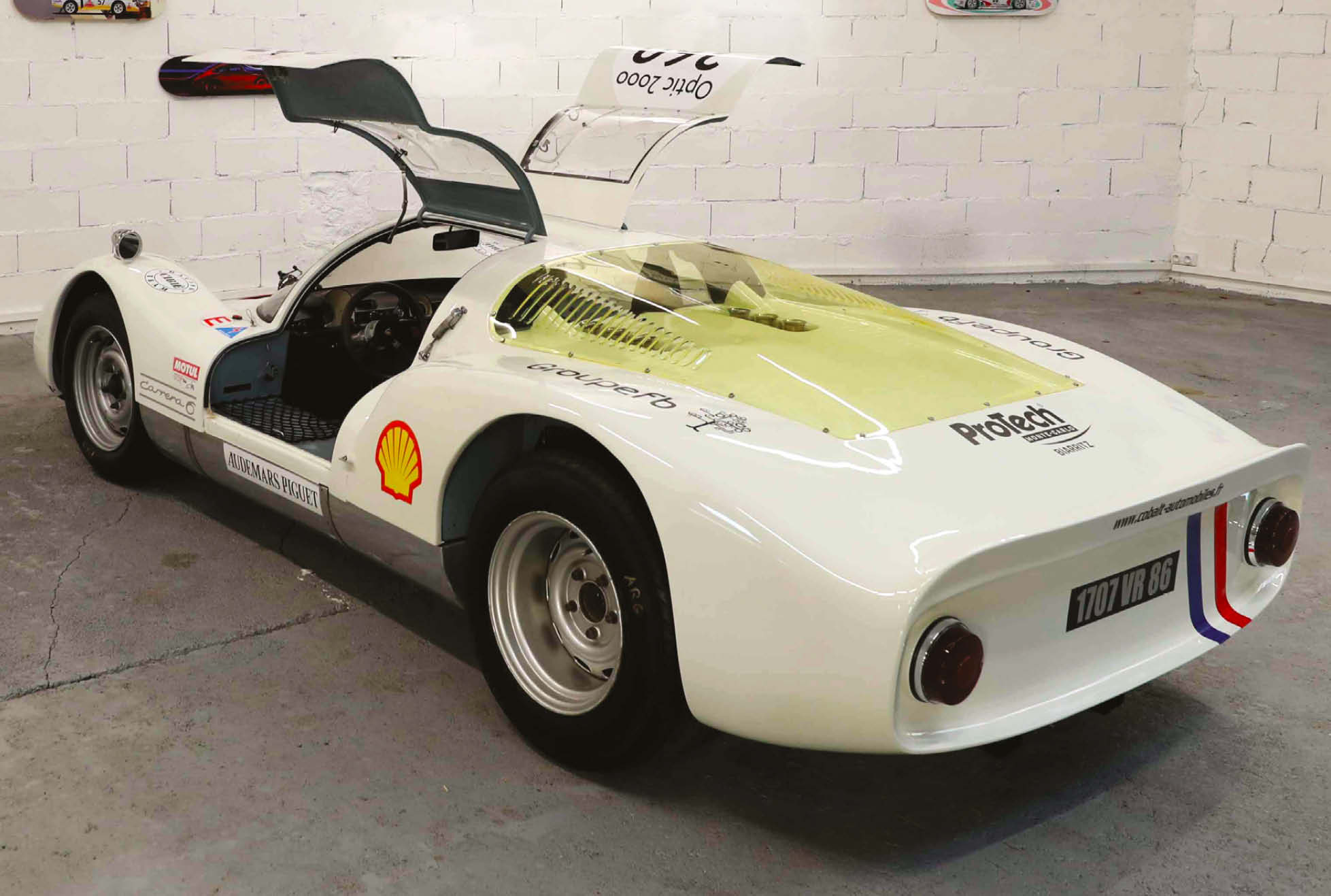 Porsche 906 chassis 114 has a comprehensive competition history to go along with it