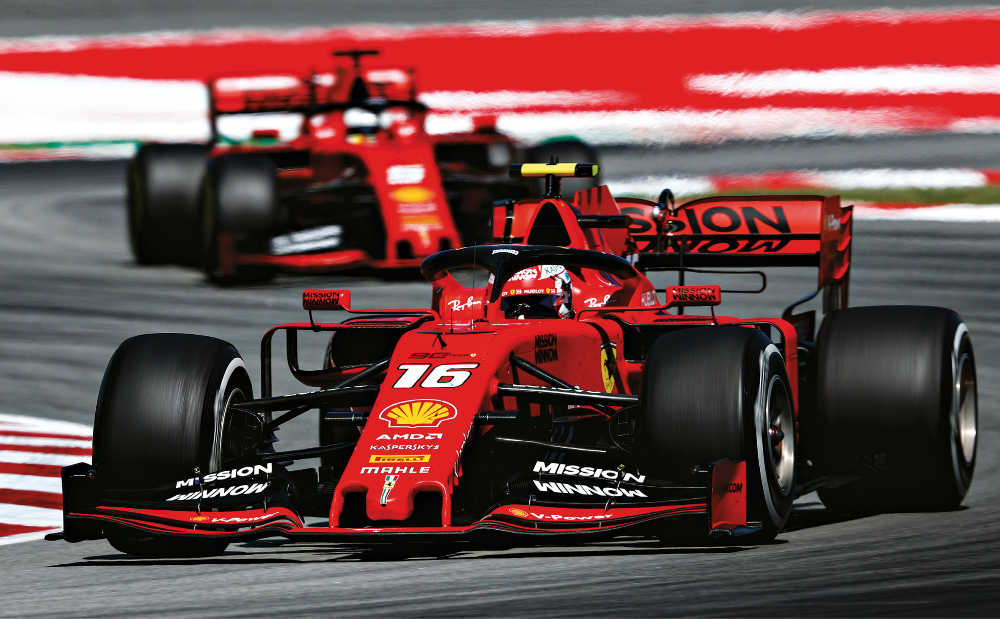The pain in Spain: Leclerc leads Vettel, but Ferrari never came close to challenging Mercedes