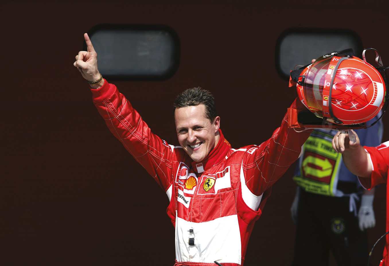 Schumacher's achievements have yet to be rivalled in Formula 1. His seventh world title came with Ferrari in 2004