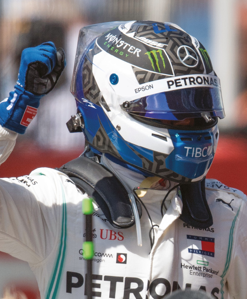 Bottas avenged unlucky 2018 defeat in Baku, taking his second victory of the campaign