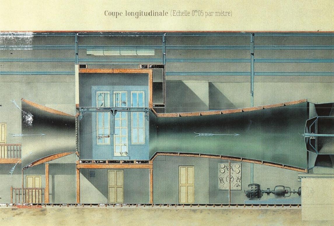 Eiffel's tunnel showed the way with its 'venturi' design