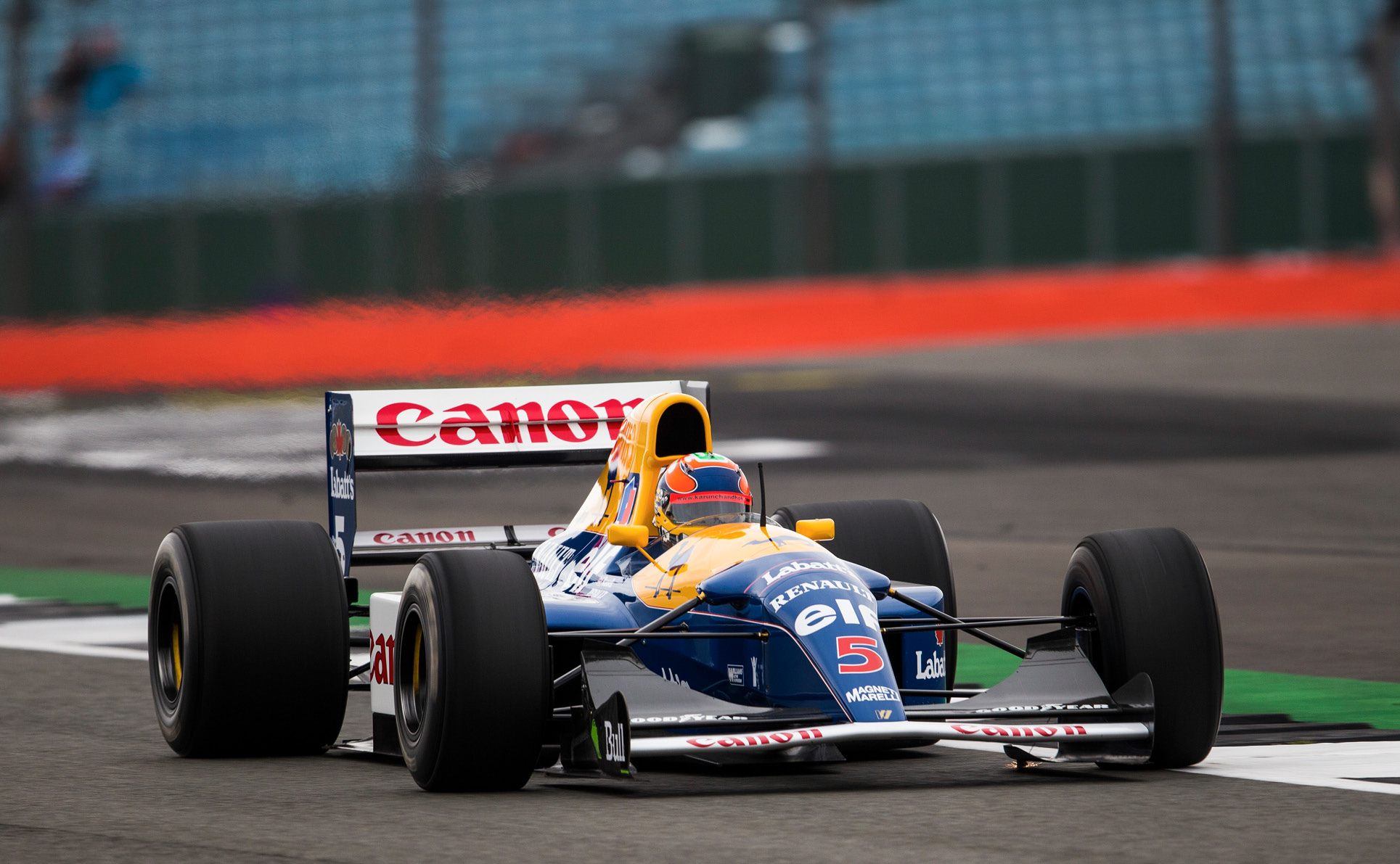 Karun Chandhok has driven many different types of car around Silverstone, including an HRT F1 car and this Williams FW14B
