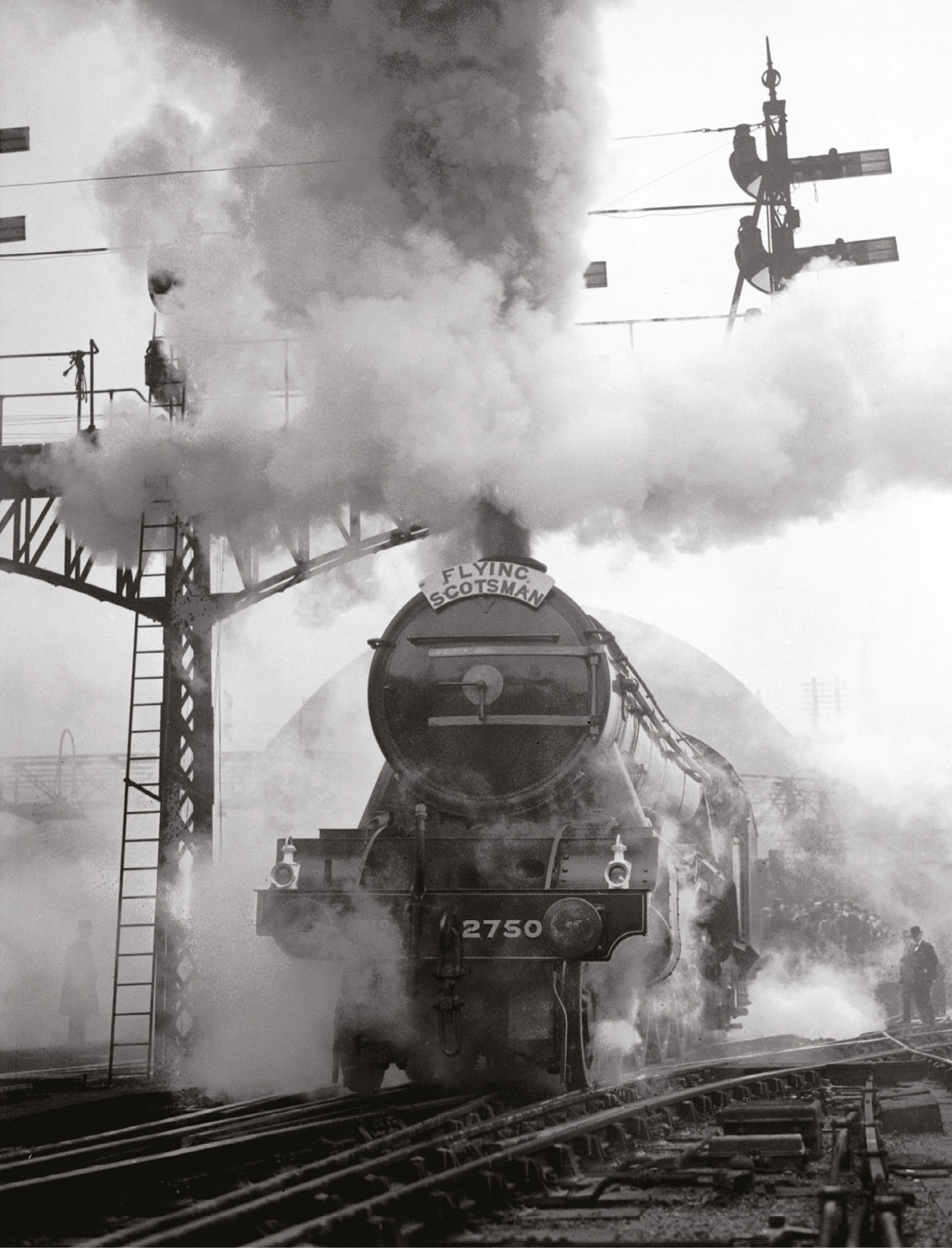 The Flying Scotsman could soon be banned from main railways