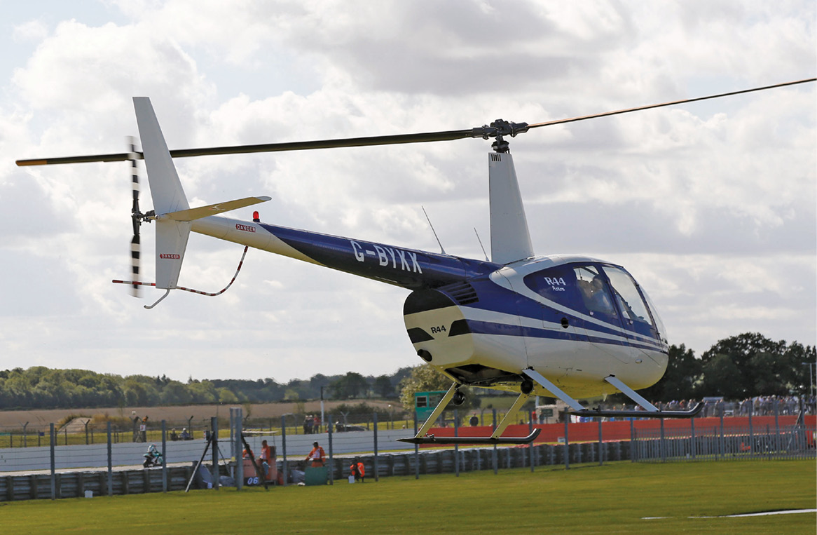 Arrive, and leave, in style with helicopter transfers... but maybe save up a bit first