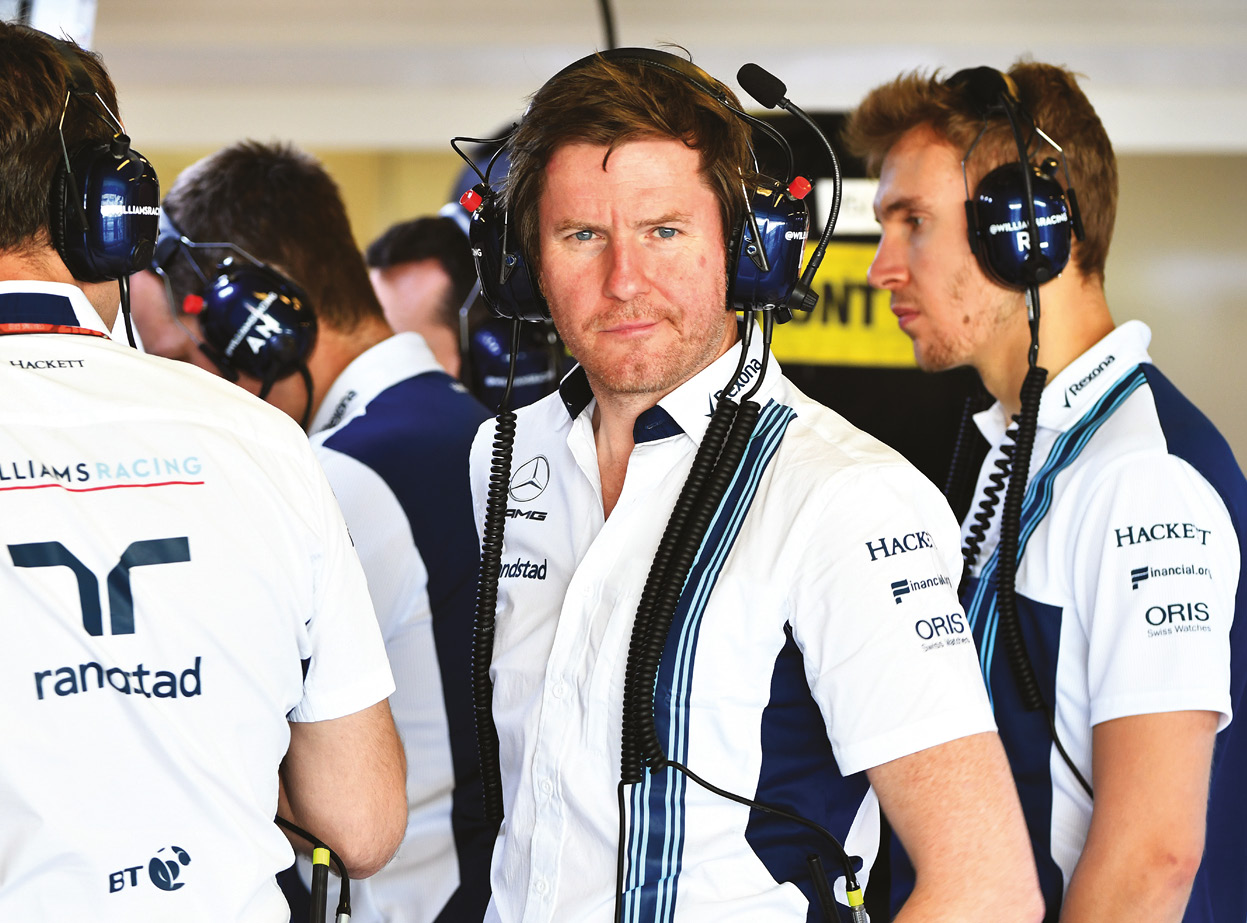 Smedley spent five seasons at Williams, which he believes suffered from lack of investment