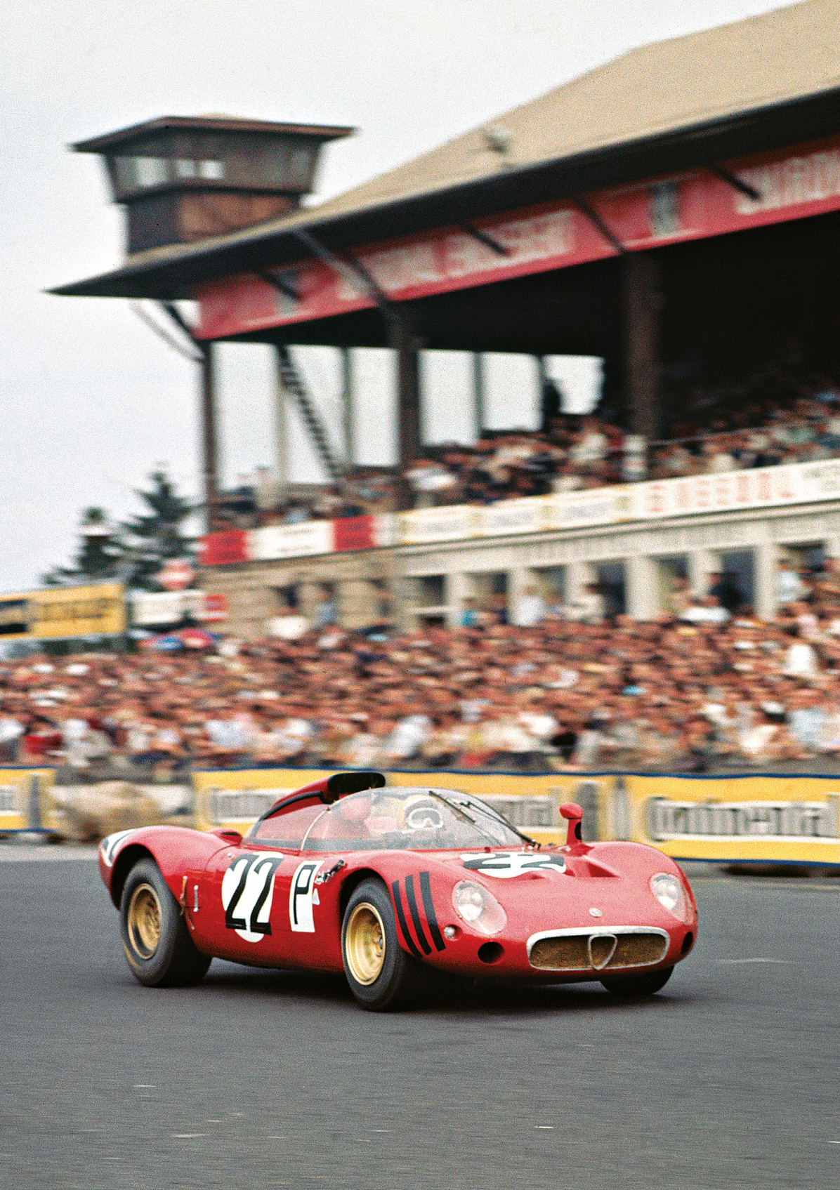 Businello/Zeccoli scored the T33's first WC points, fifth in the Nürburgring 1000Kms in 1967