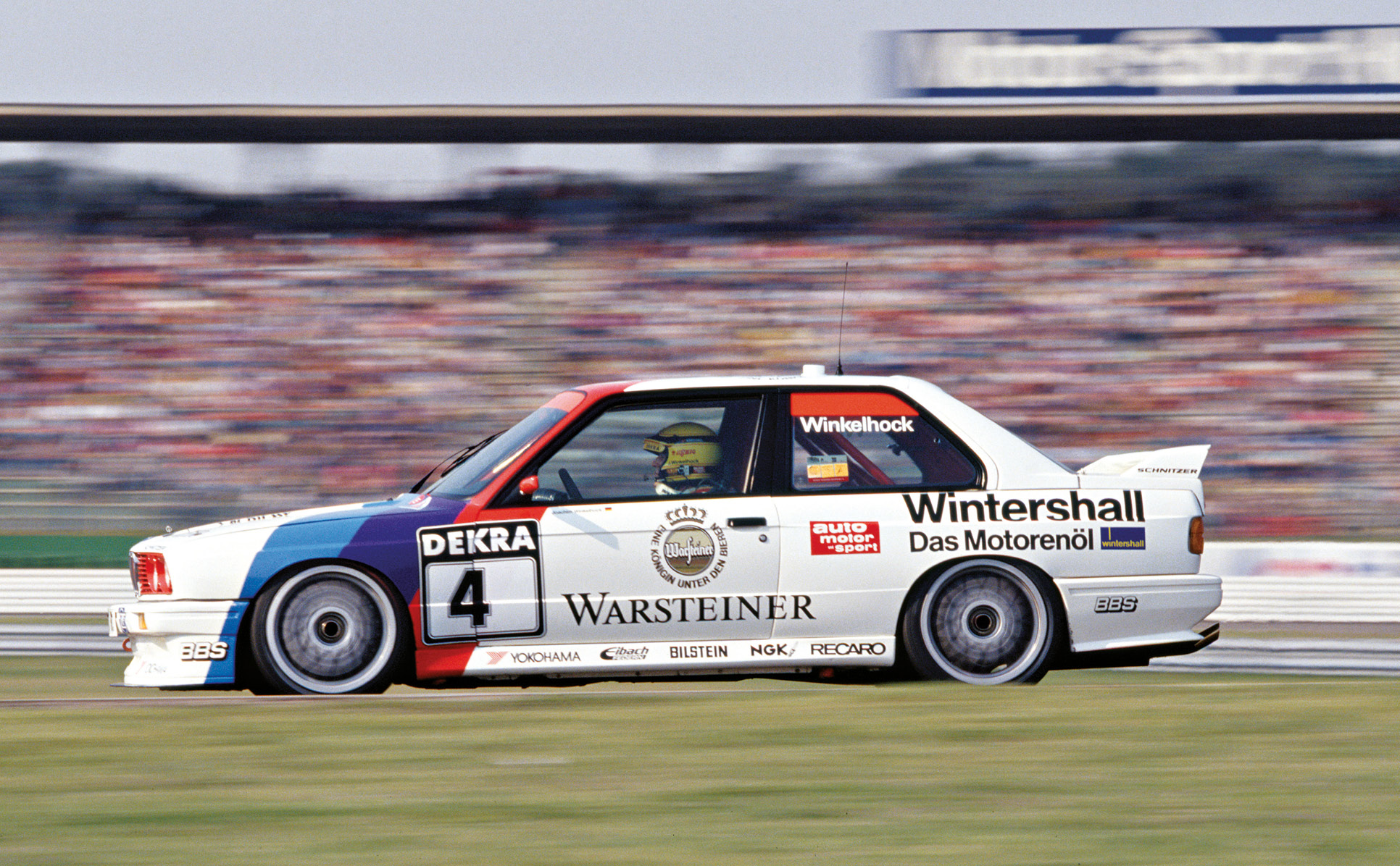 Jo Winkelhock spent 14 years racing in German touring cars and says the BMW M3 is his pick of the bunch