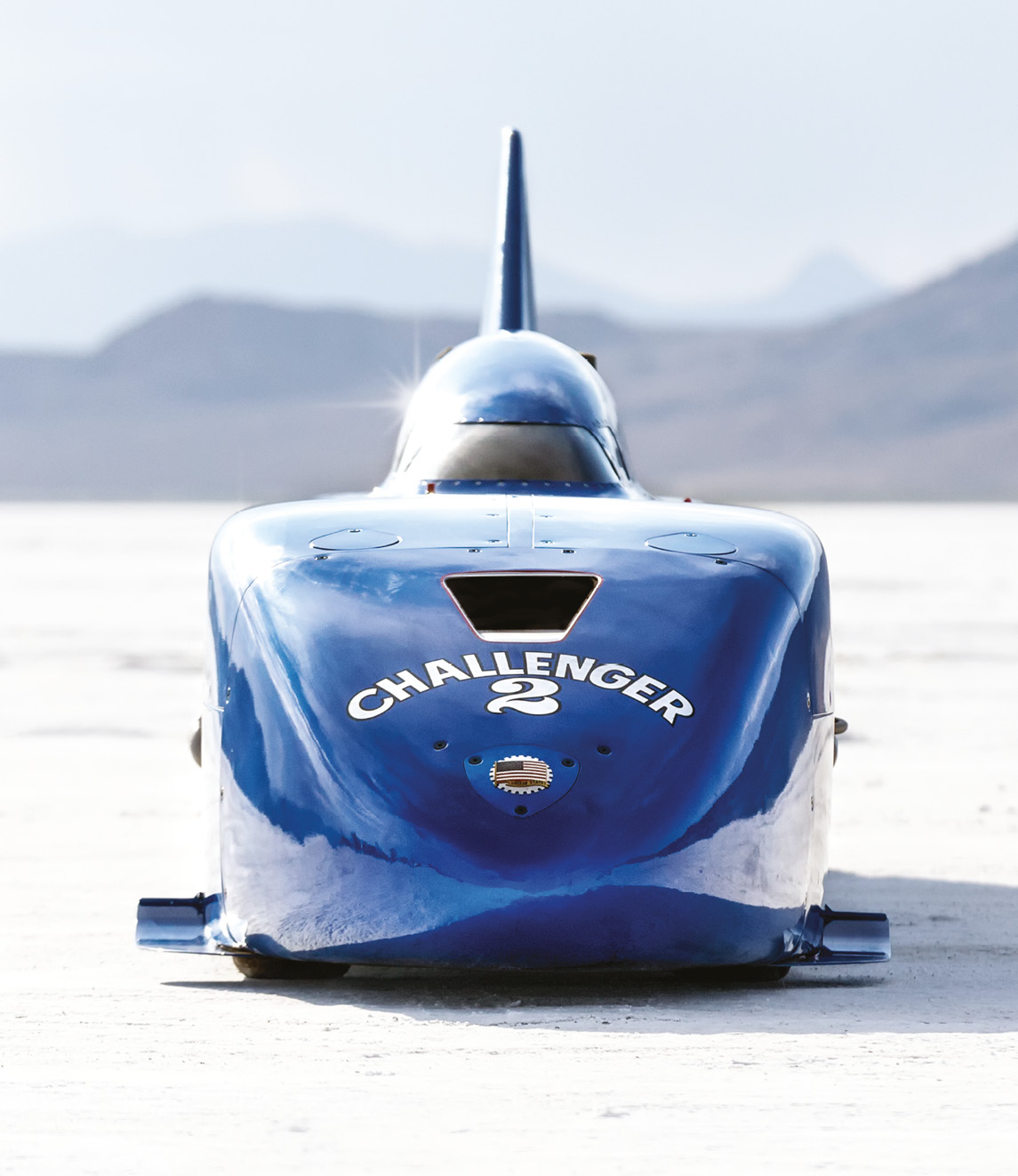 Now boasting three times the power it used to have, Challenger II hit 450.9mph