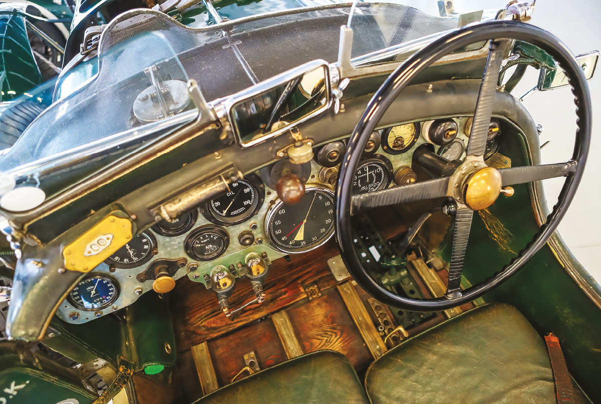 Interior remains original, as does the gearbox