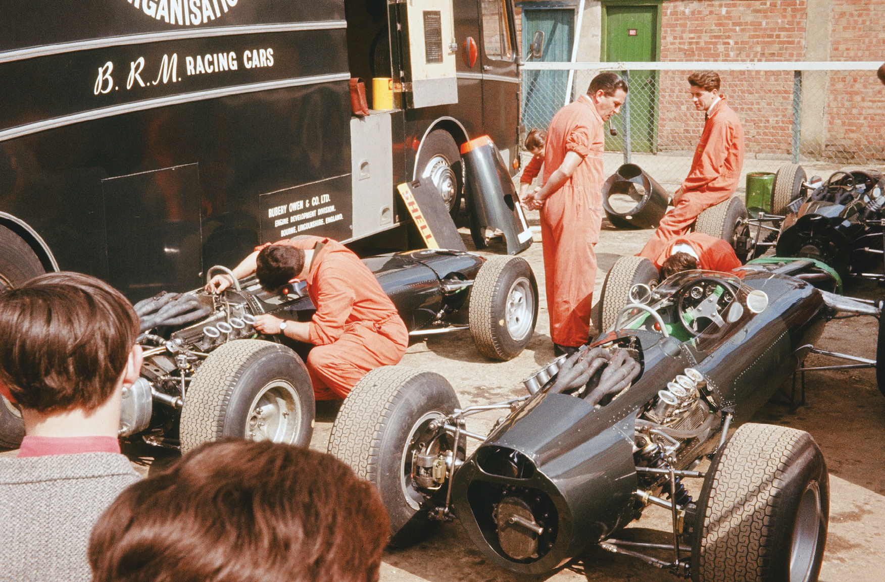 BRM brought three P261s to the British Grand Prix – race chassis for Graham Hill (who finished second) and Jackie Stewart (fifth), plus the usual spare